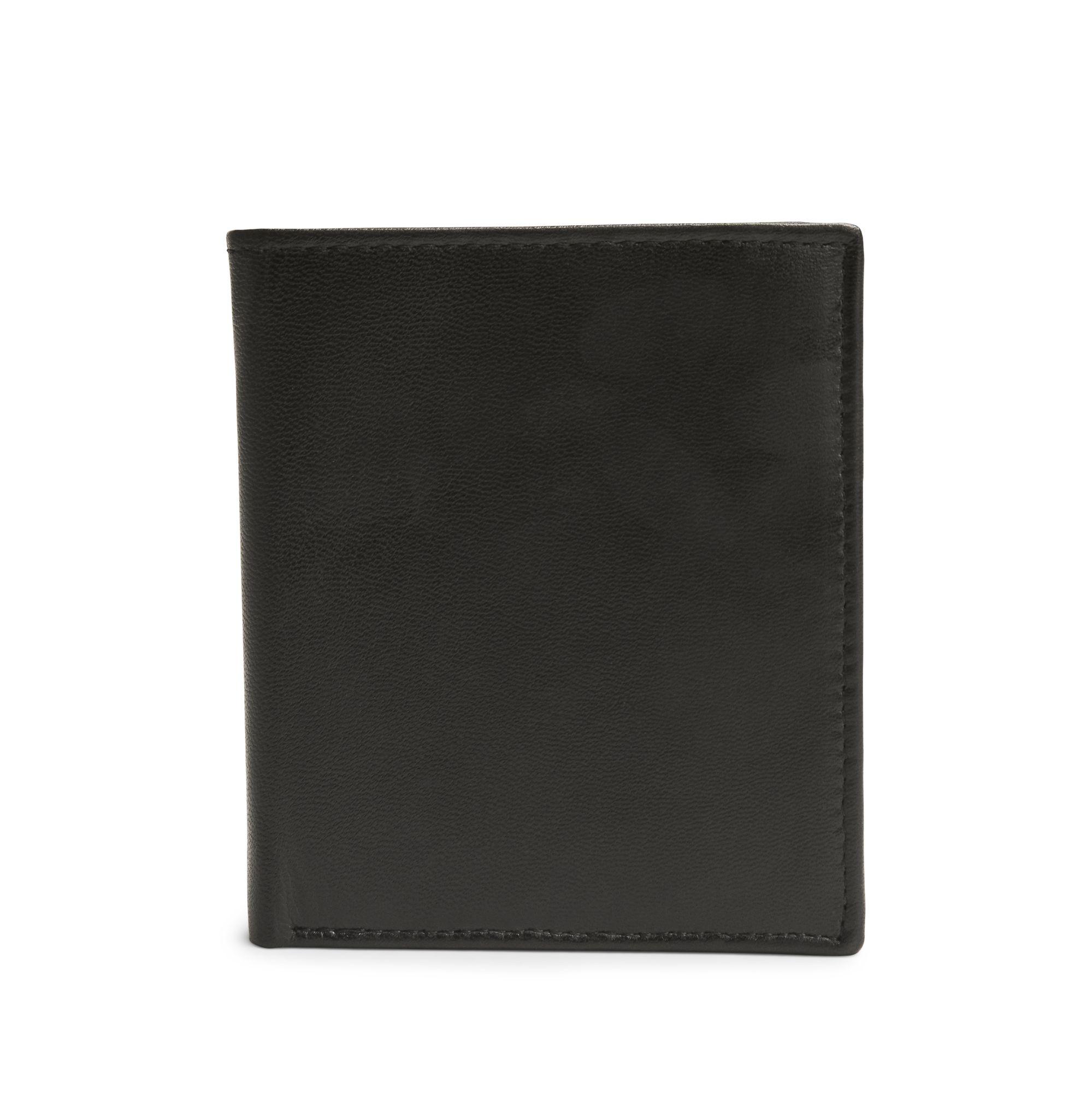 Rizzo Ariele liten plånbok i skinn, Svart