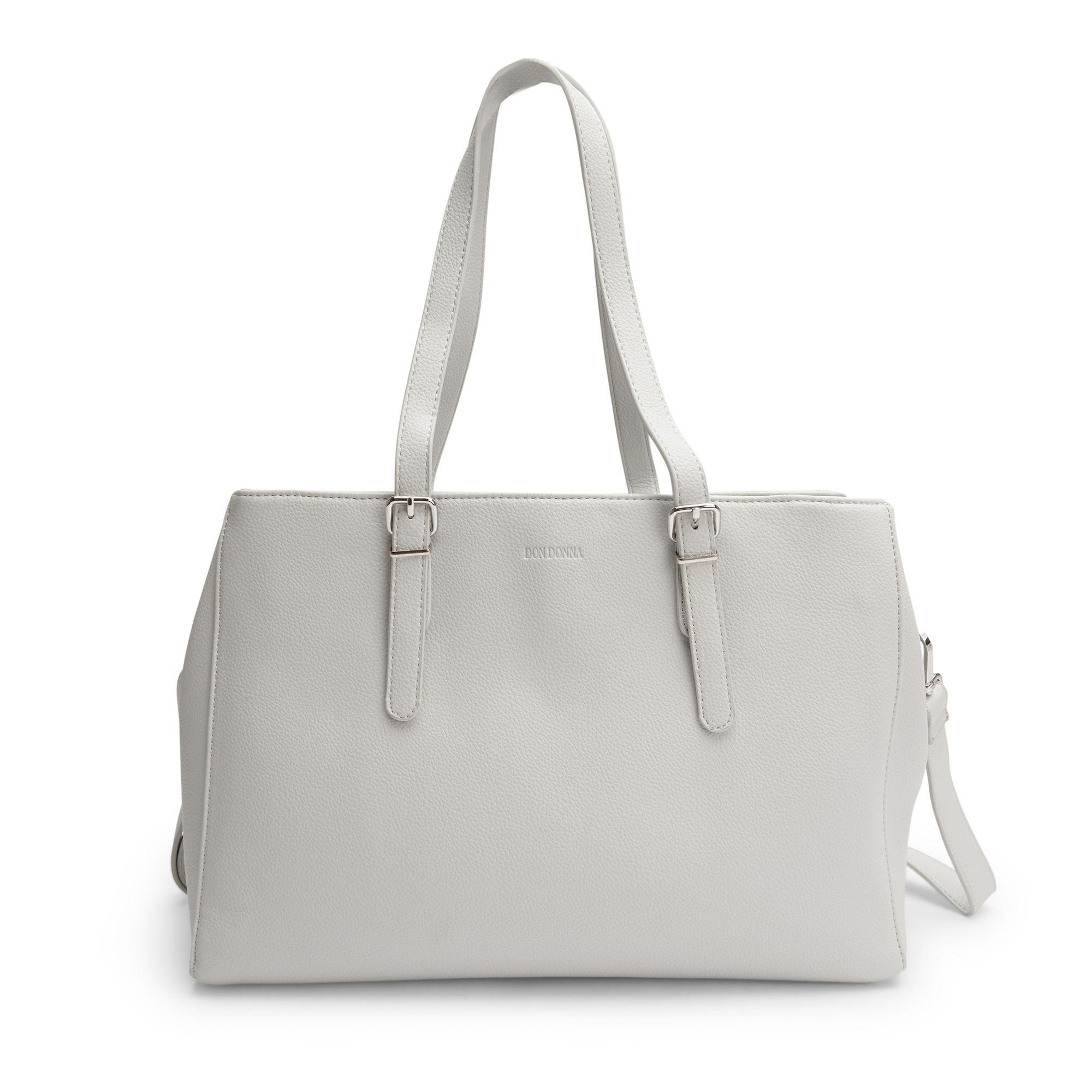 Don Donna Josefine handväska, 13 tum, Ljusgrå
