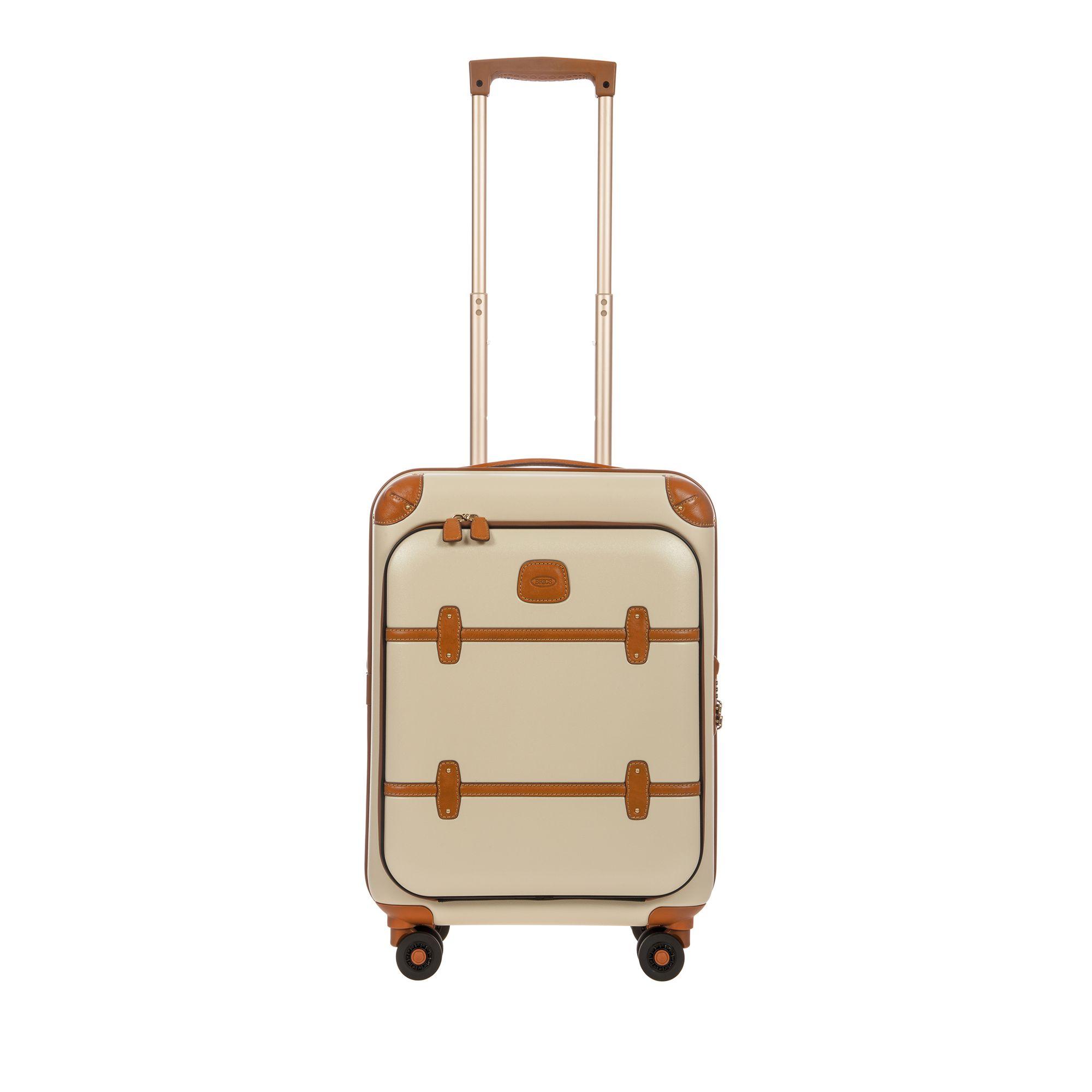 BRIC'S Bellagio hård kabinväska, 4 hjul, 55 cm, Vit
