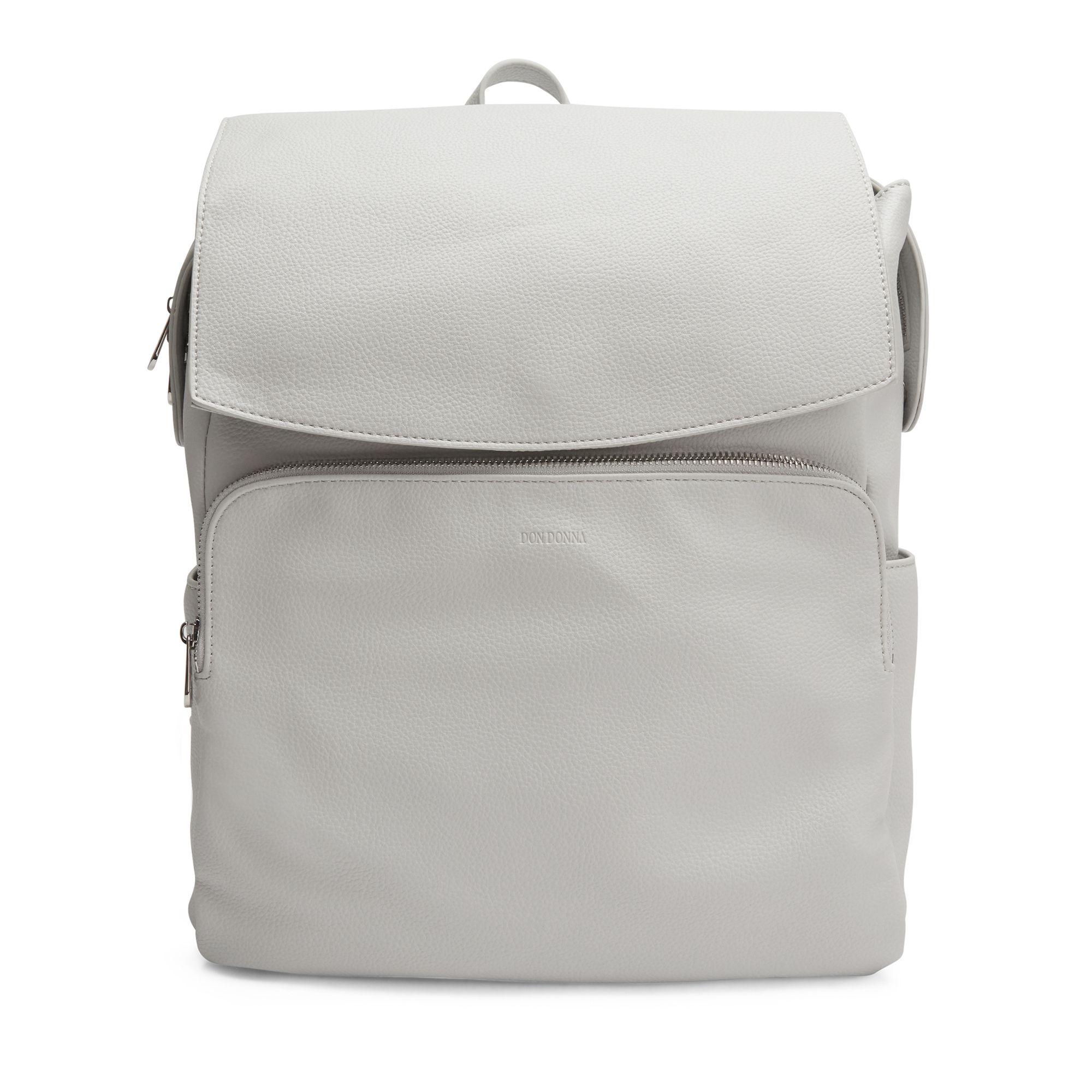 Don Donna Josefine ryggsäck med datorfack, Ljusgrå