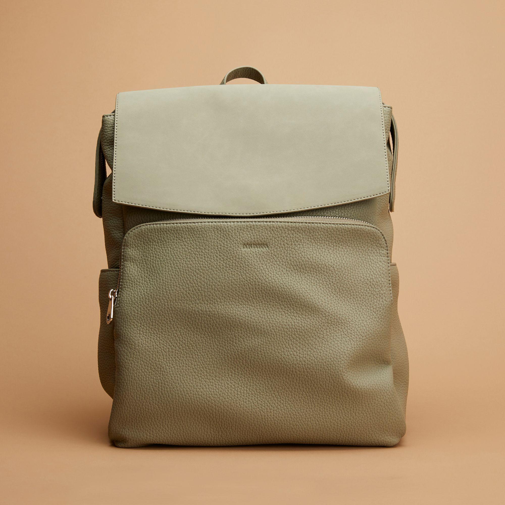 Don Donna Josefine ryggsäck med datorfack, Ljusgrön