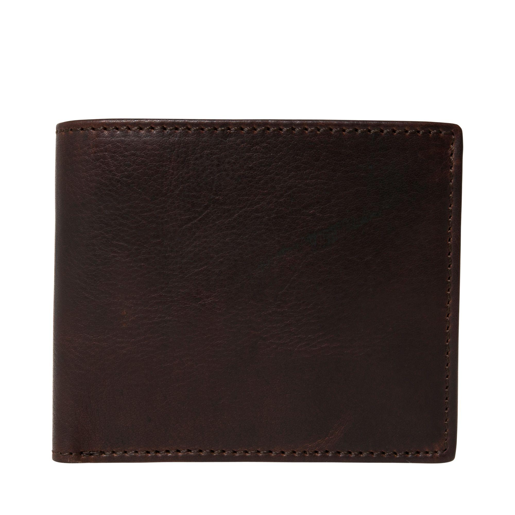 Leonhard Heyden Roma plånbok i skinn, Brun