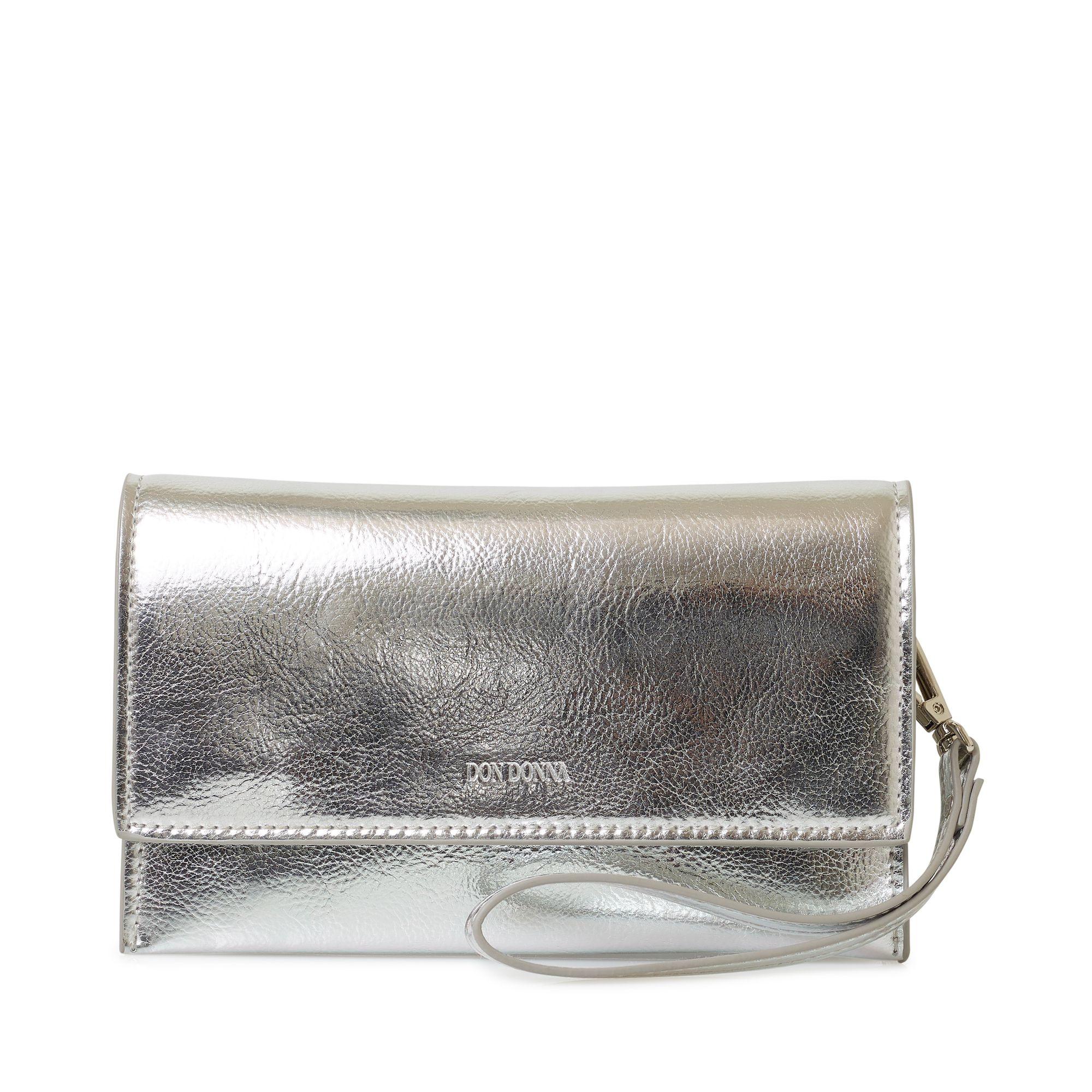 Don Donna Amy liten kuvertväska, Silver