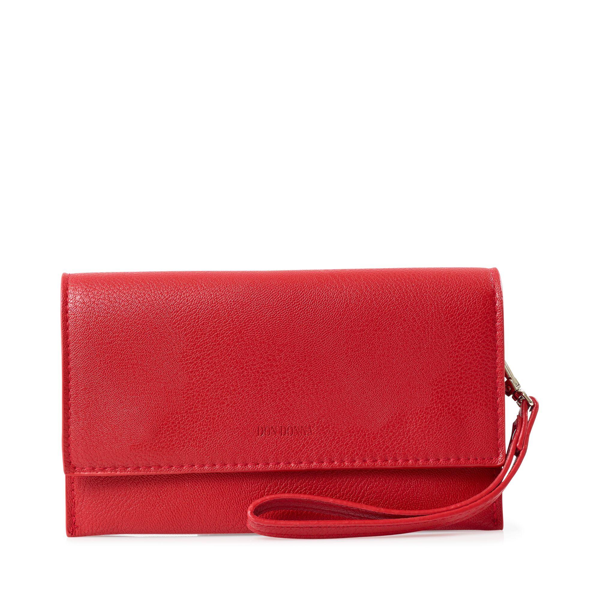 Don Donna Amy liten kuvertväska, Röd