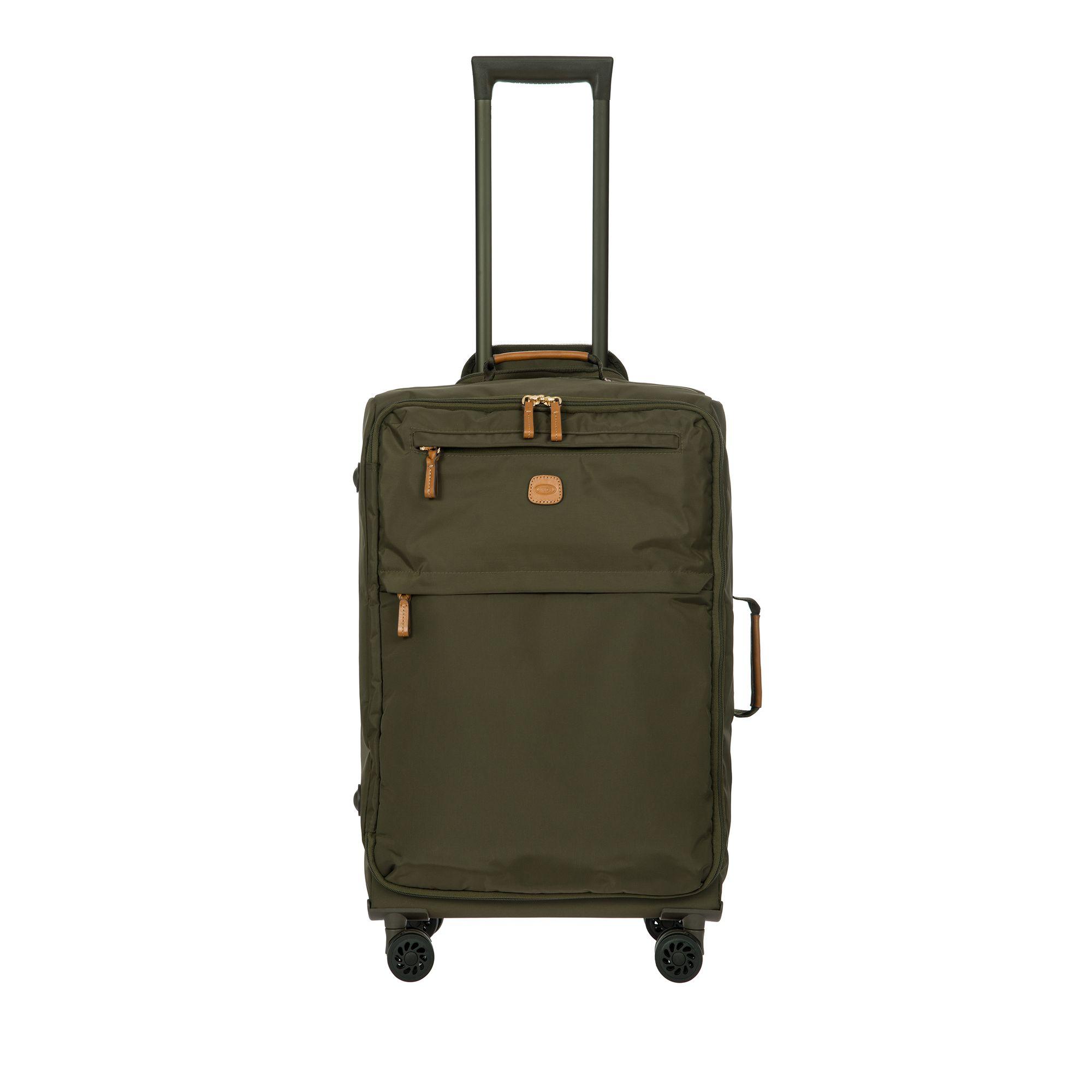 BRIC'S X-Travel mjuk resväska i nylon, 4 hjul, 65 cm, Grön