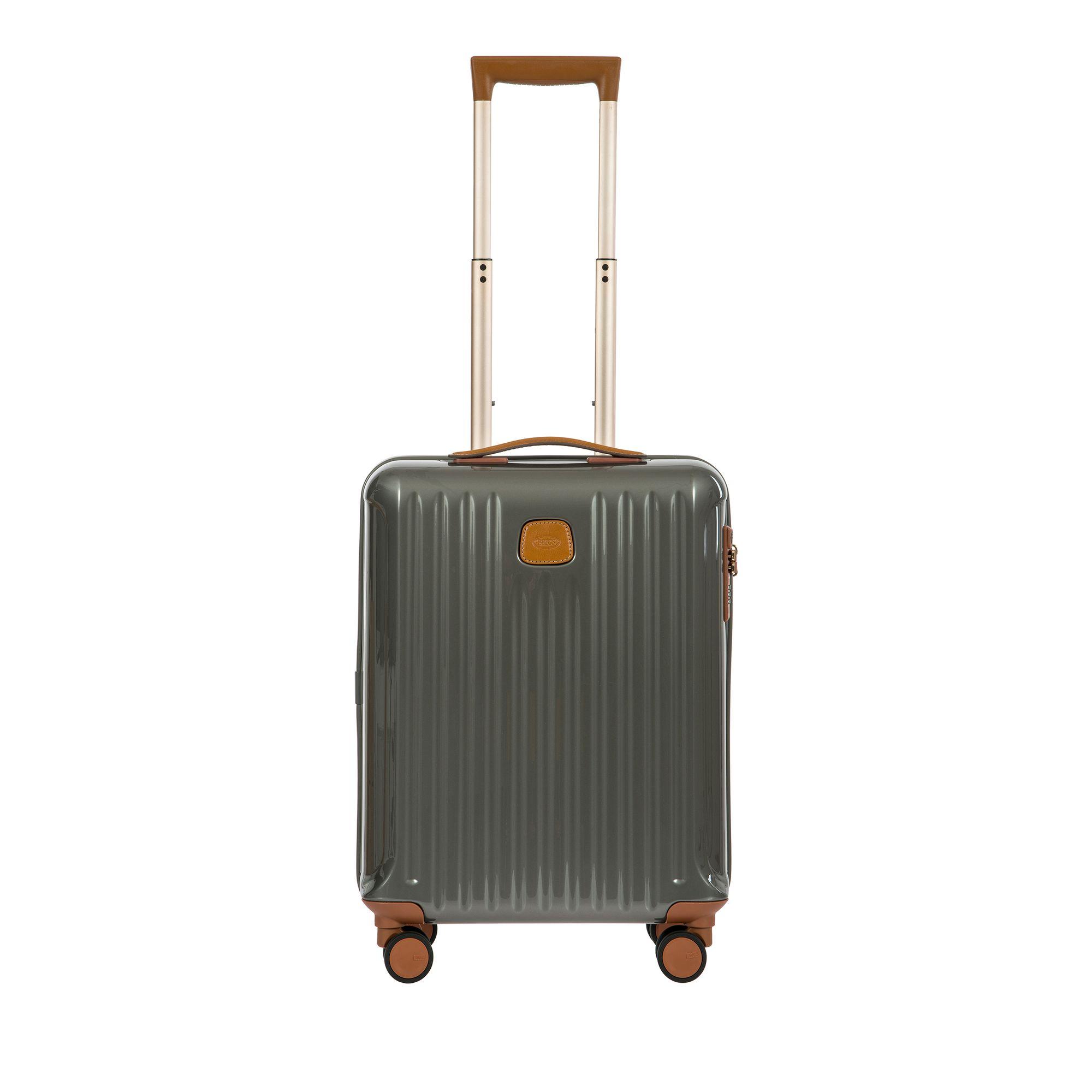 BRIC'S Capri hård kabinväska, 4 hjul, 55 cm, Grå