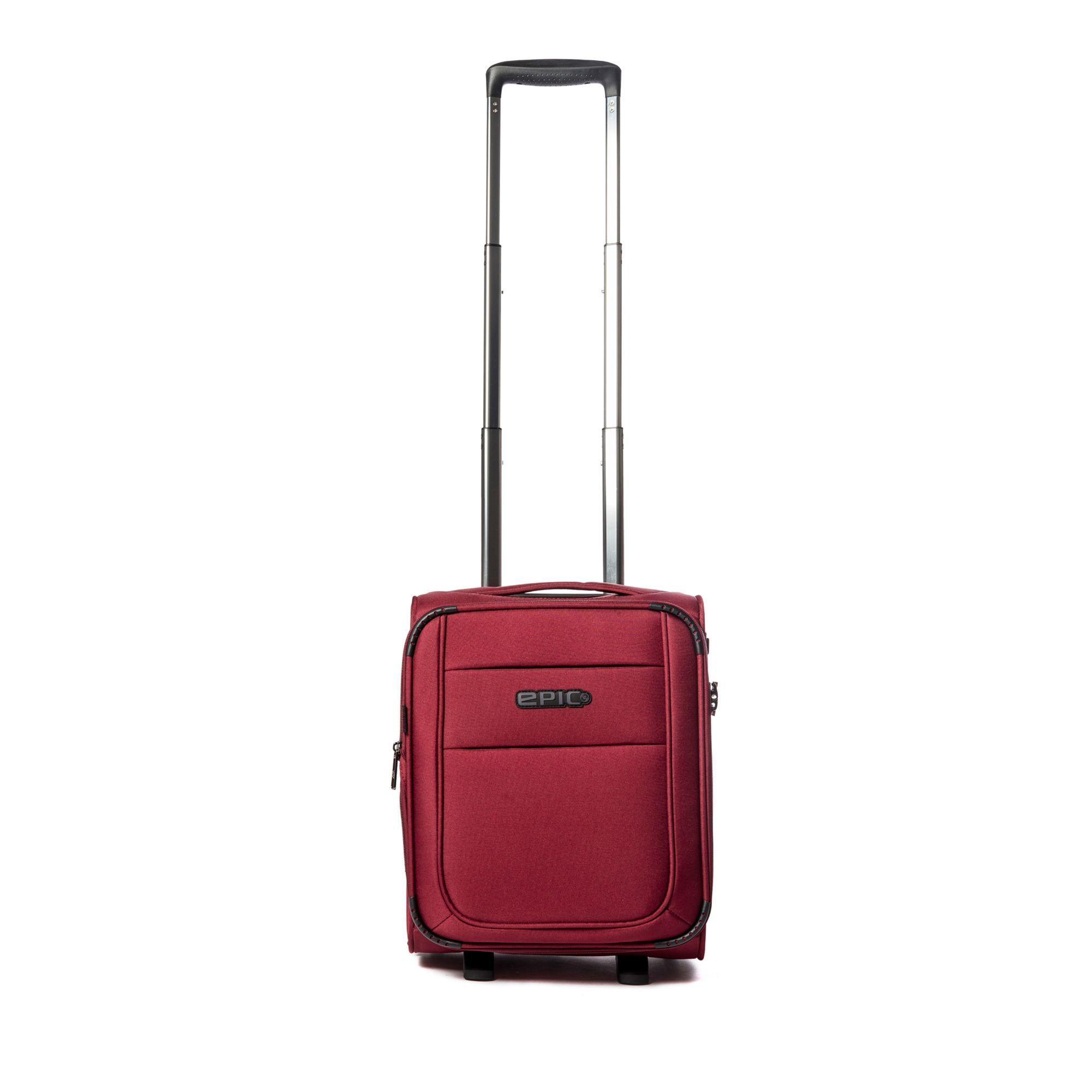 Epic Discovery Ultra mjuk resväska, 2 hjul, 45 cm, Bordeaux