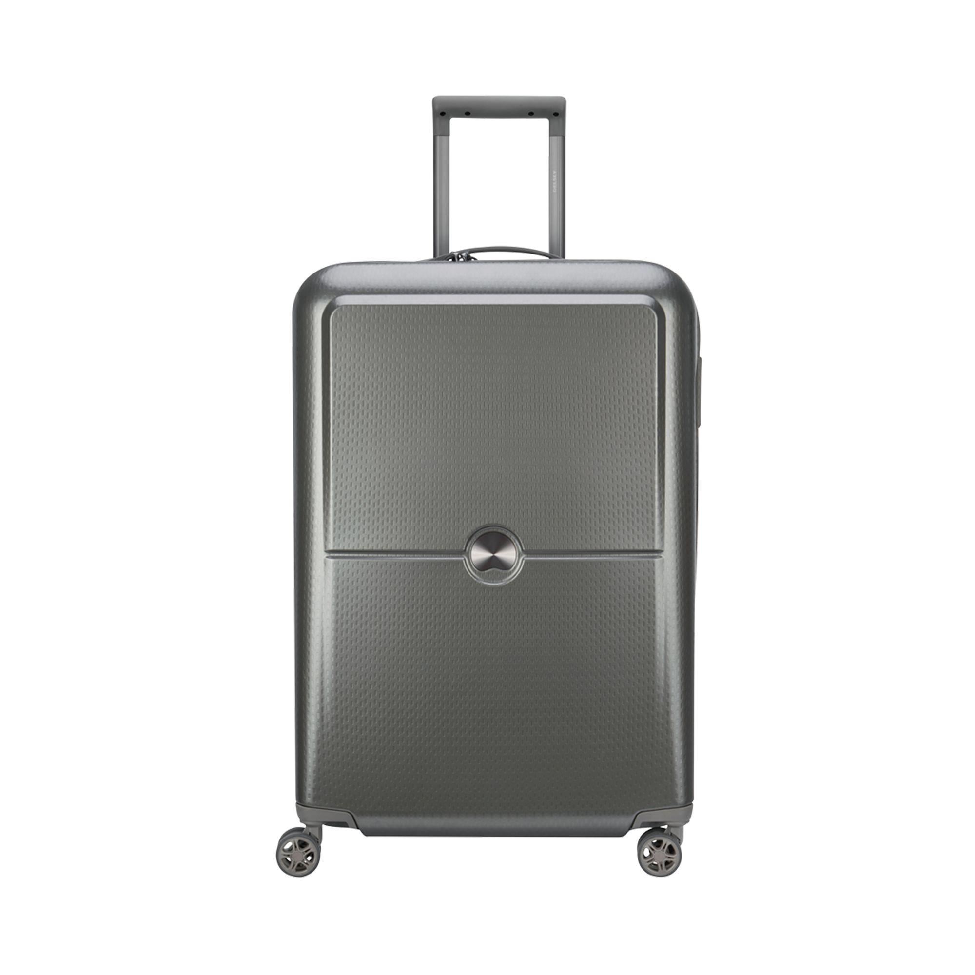 Delsey Turenne hård resväska, 4 hjul, 70 cm, Silver