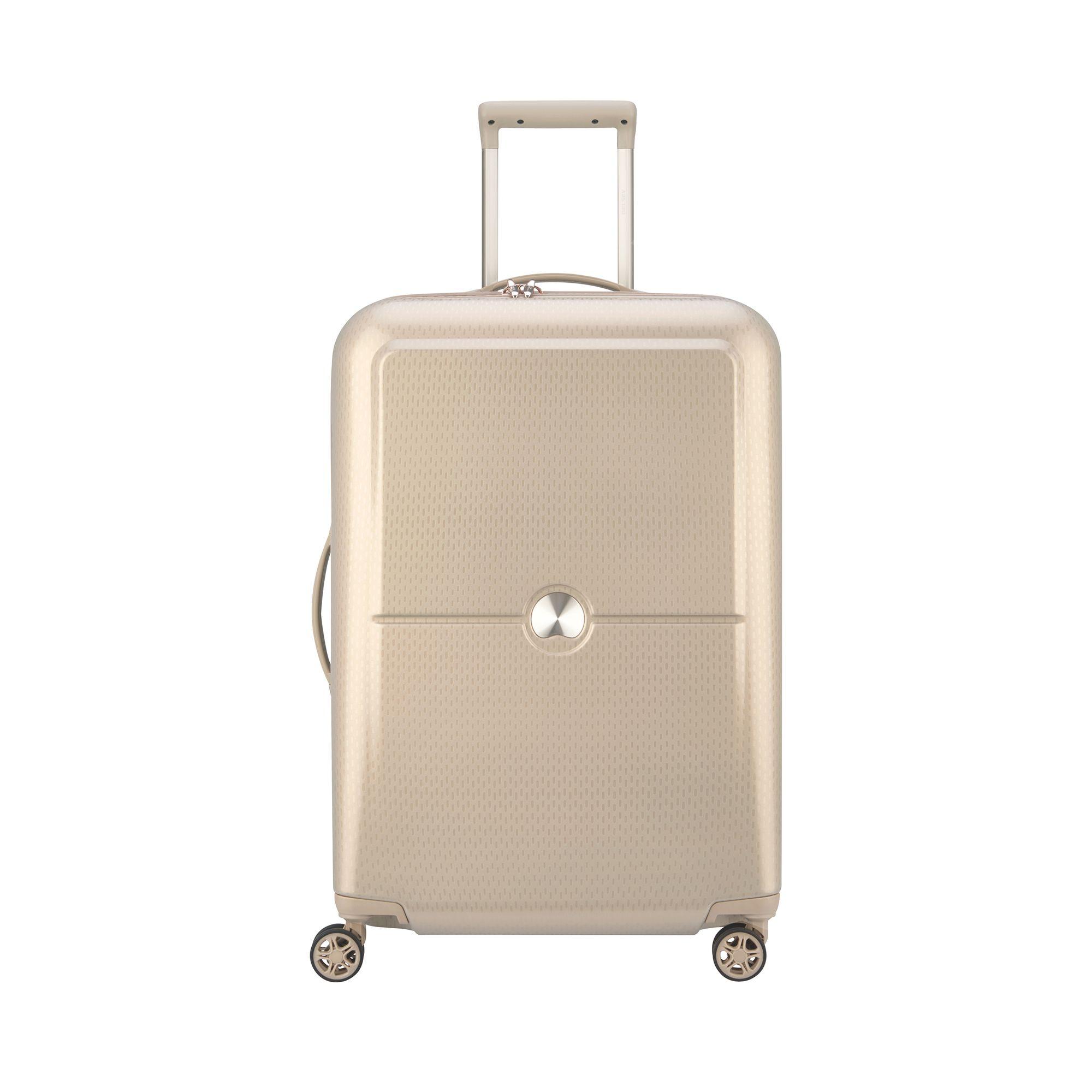 Delsey Turenne hård resväska, 4 hjul, 70 cm, Guld