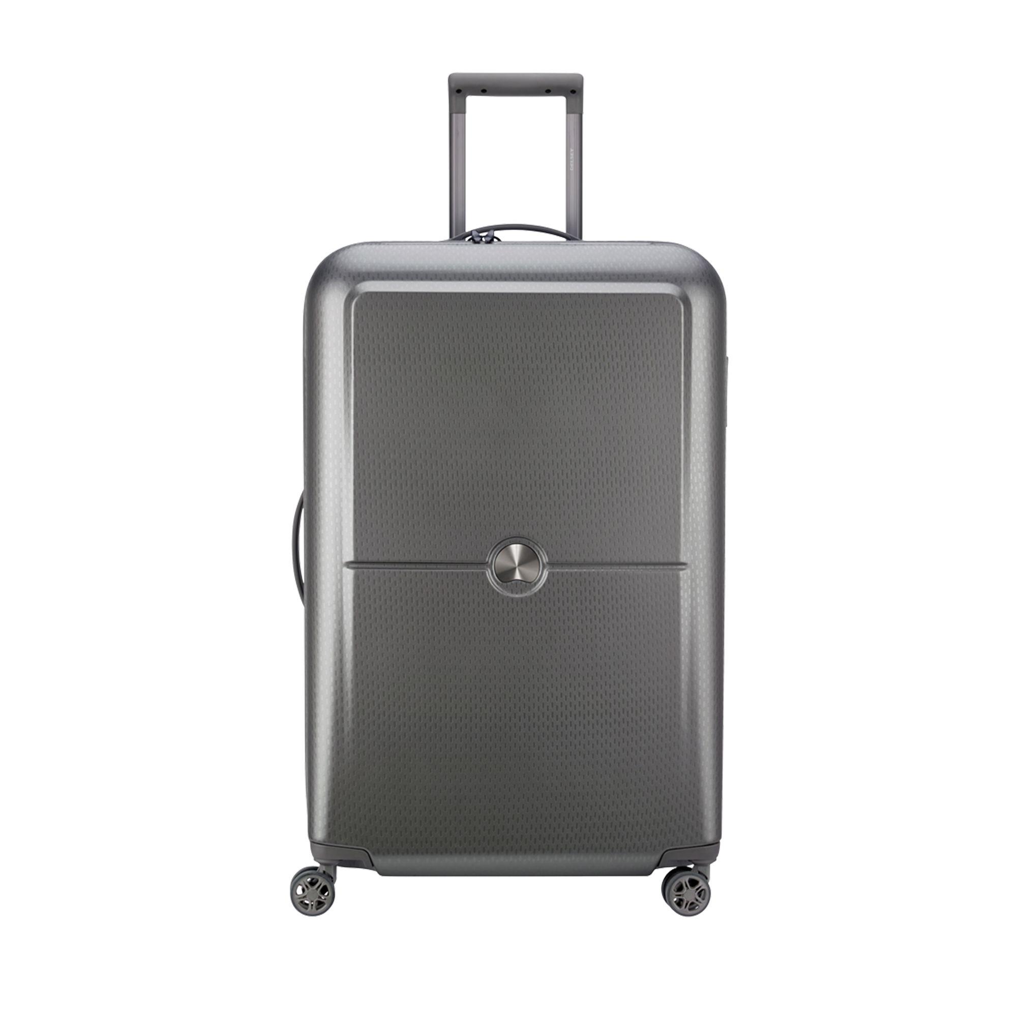 Delsey Turenne hård resväska, 4 hjul, 75 cm, Silver