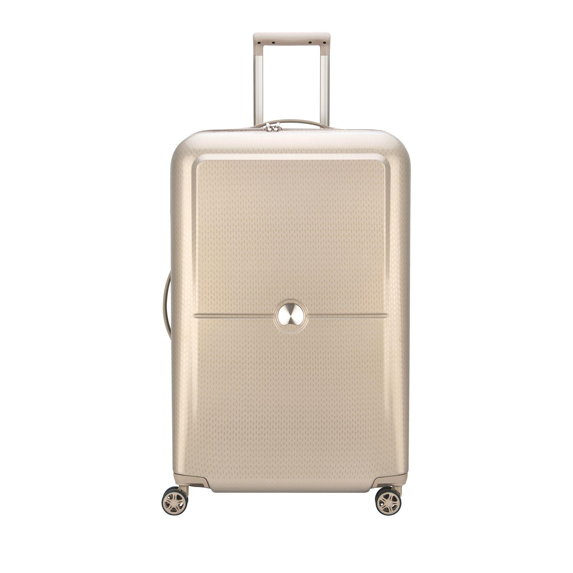 Delsey Turenne hård resväska, 4 hjul, 75 cm, Guld