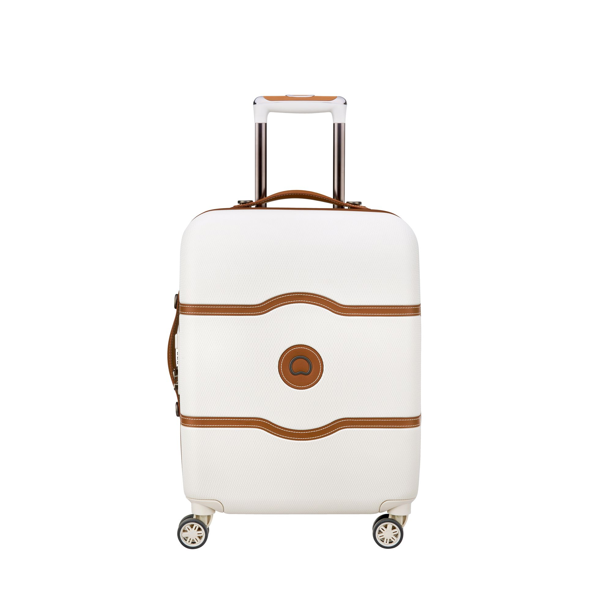 Delsey Chatelet Air hård kabinväska, 4 hjul, 55 cm , Vit