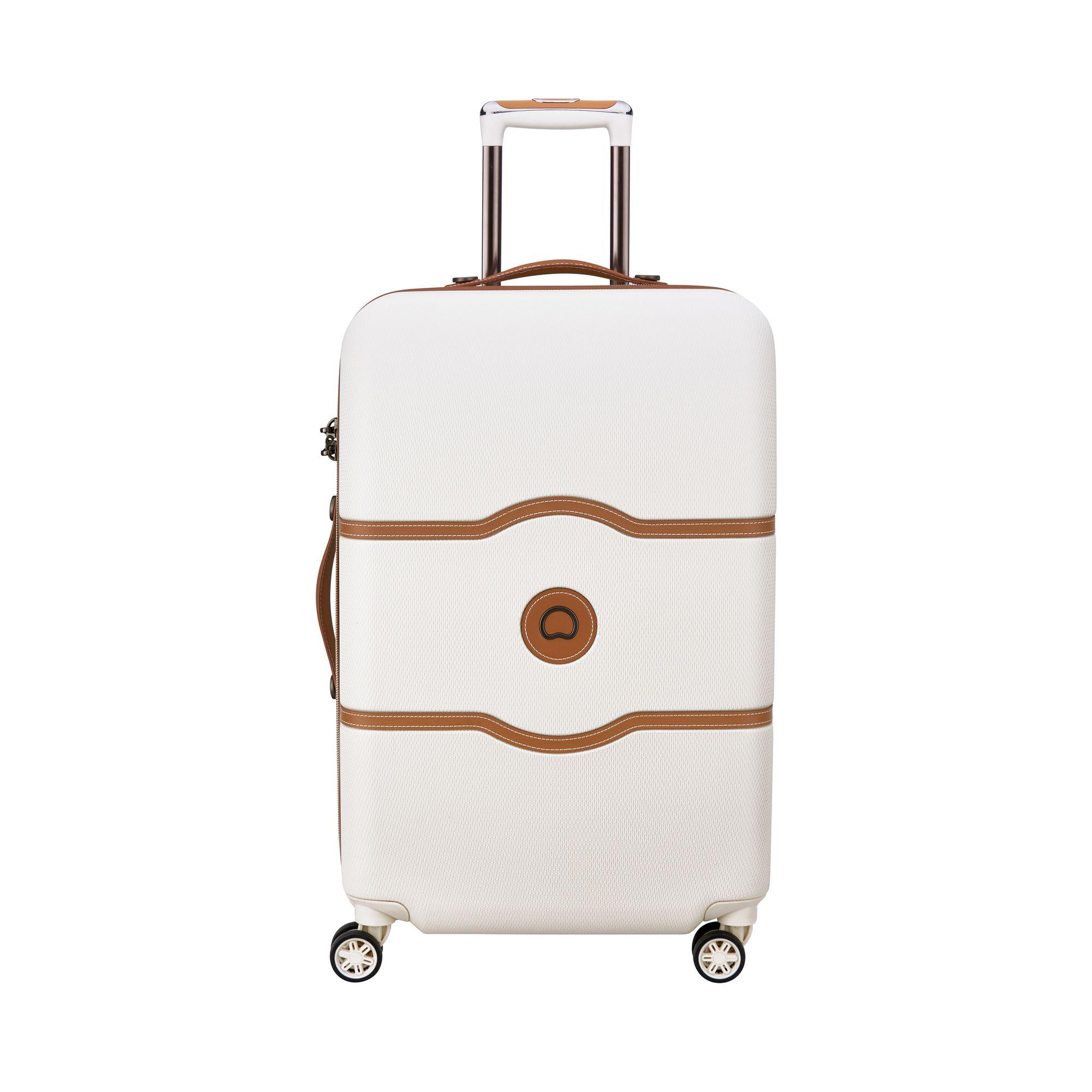 Delsey Chatelet Air hård resväska, 4 hjul, 69 cm, Vit