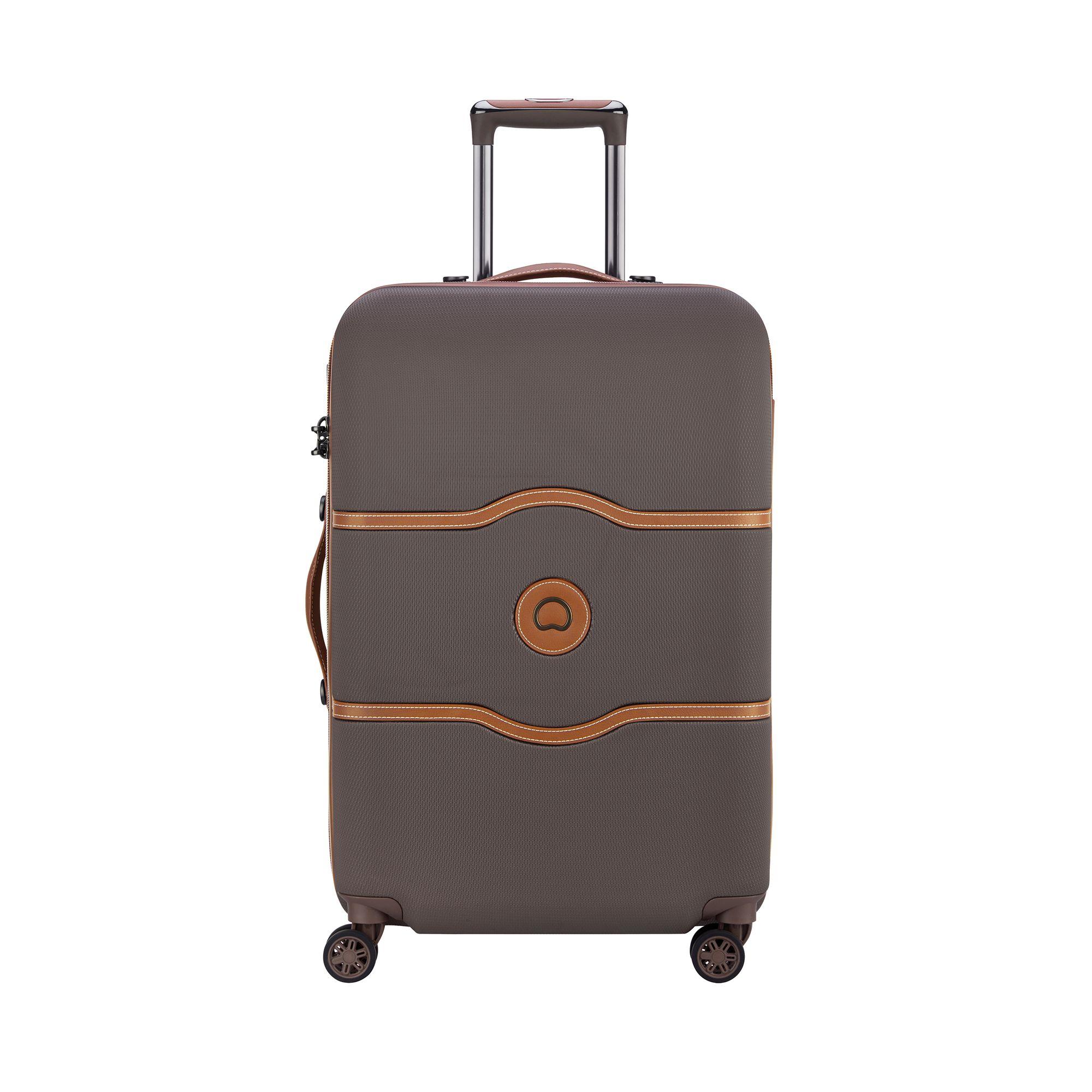 Delsey Chatelet Air hård resväska, 4 hjul, 69 cm, Brun