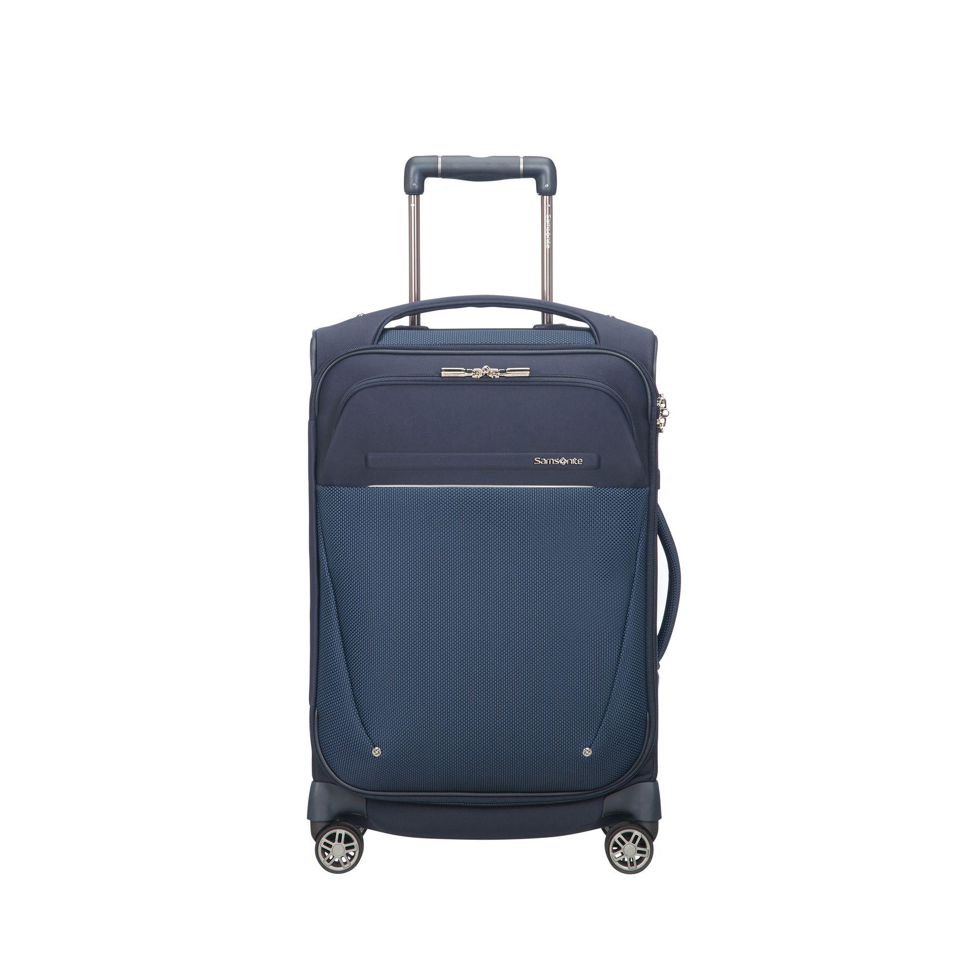 Samsonite B-Lite Icon resväska, 4 hjul, 55 cm, Mörkblå