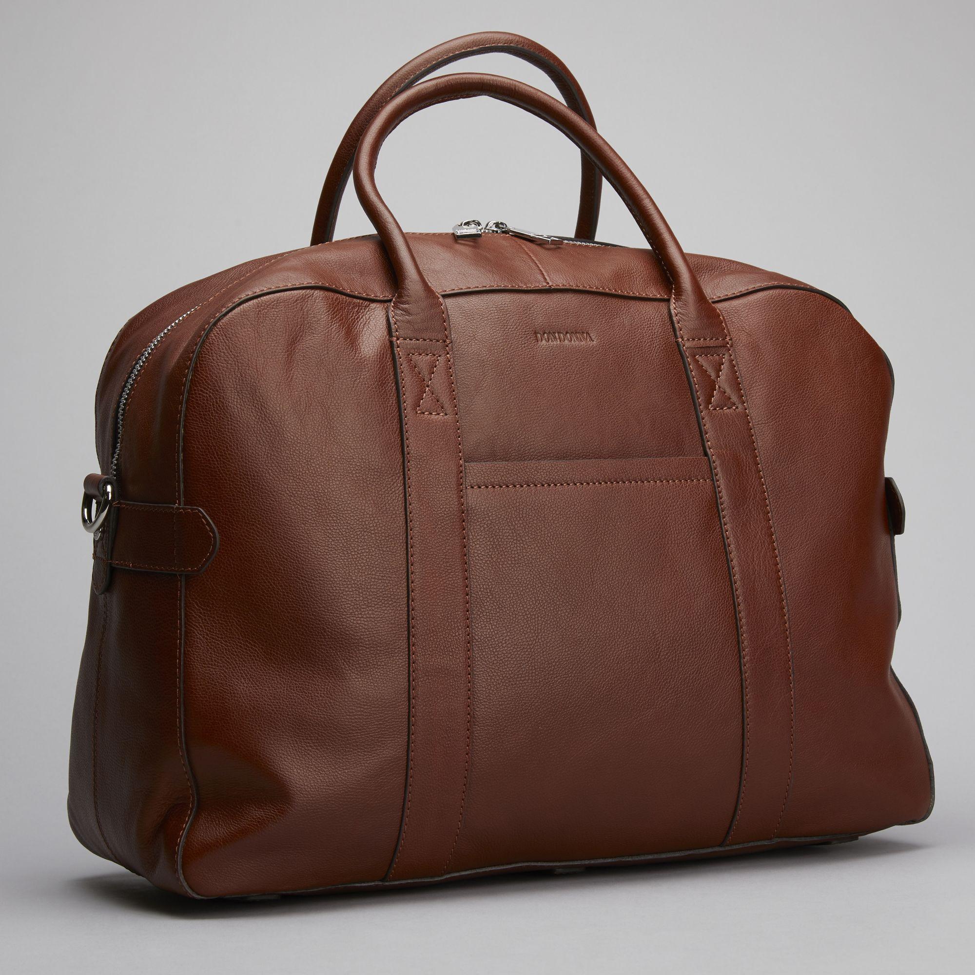 DD Mark Daybag väska i skinn, Cognac