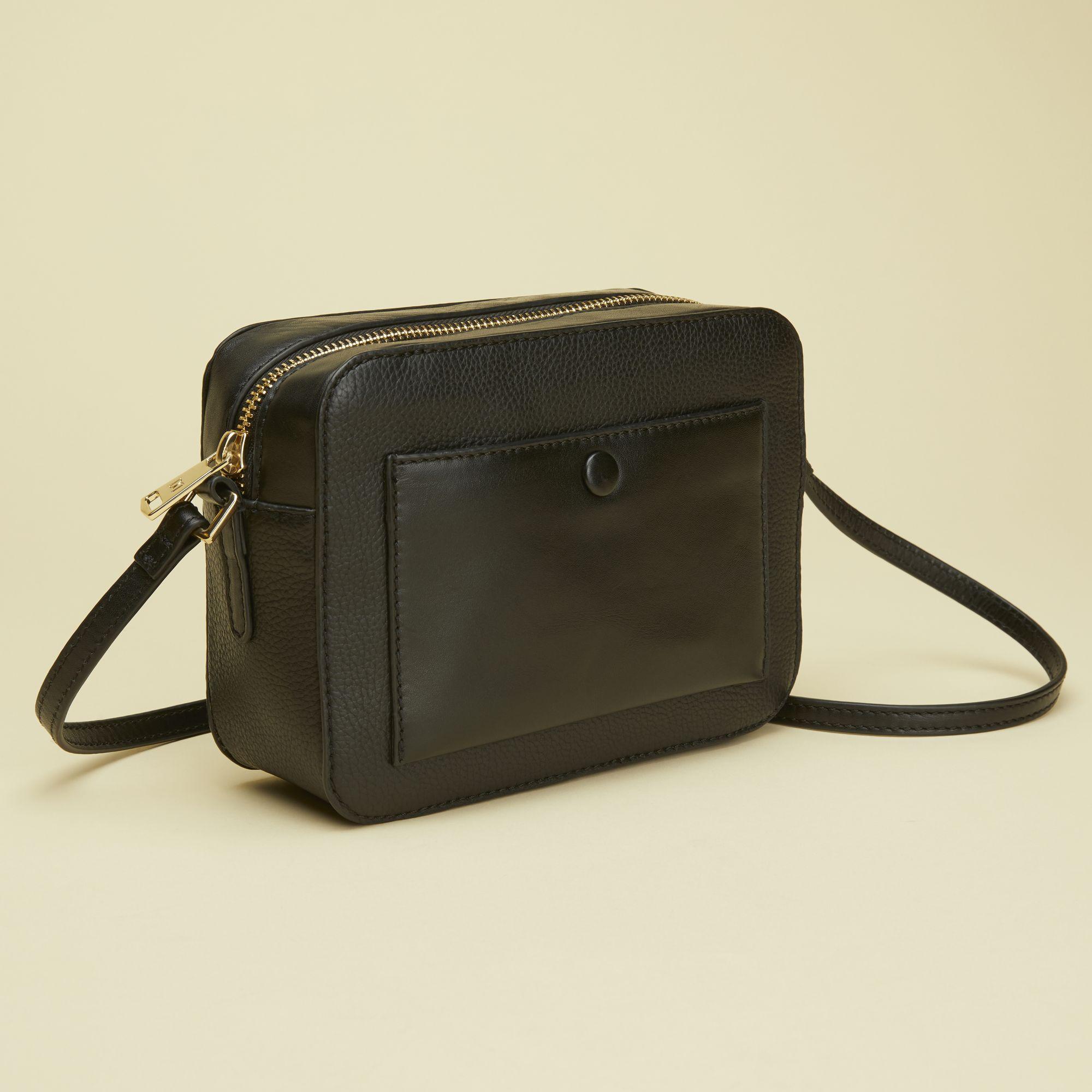 Don Donna Belinda Camerabag, väska i skinn, Svart