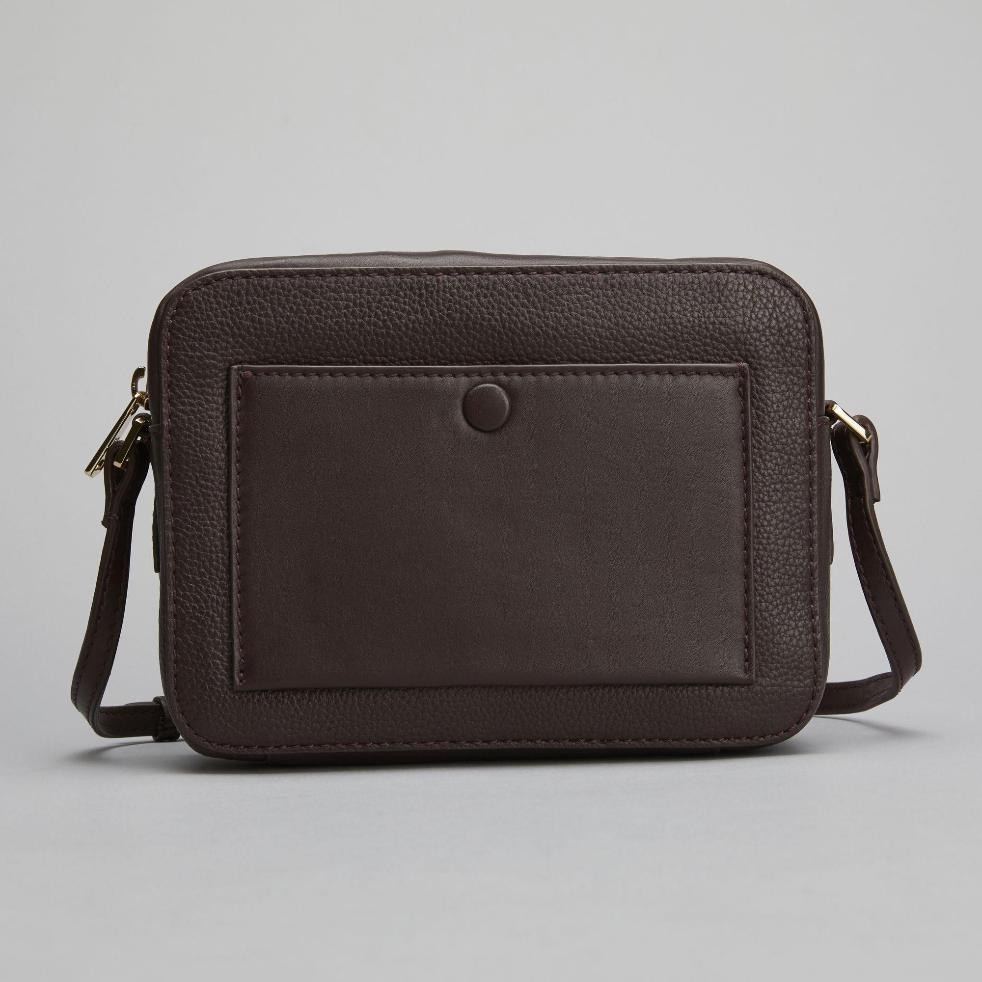 Don Donna Belinda Camerabag, väska i skinn, Bordeaux