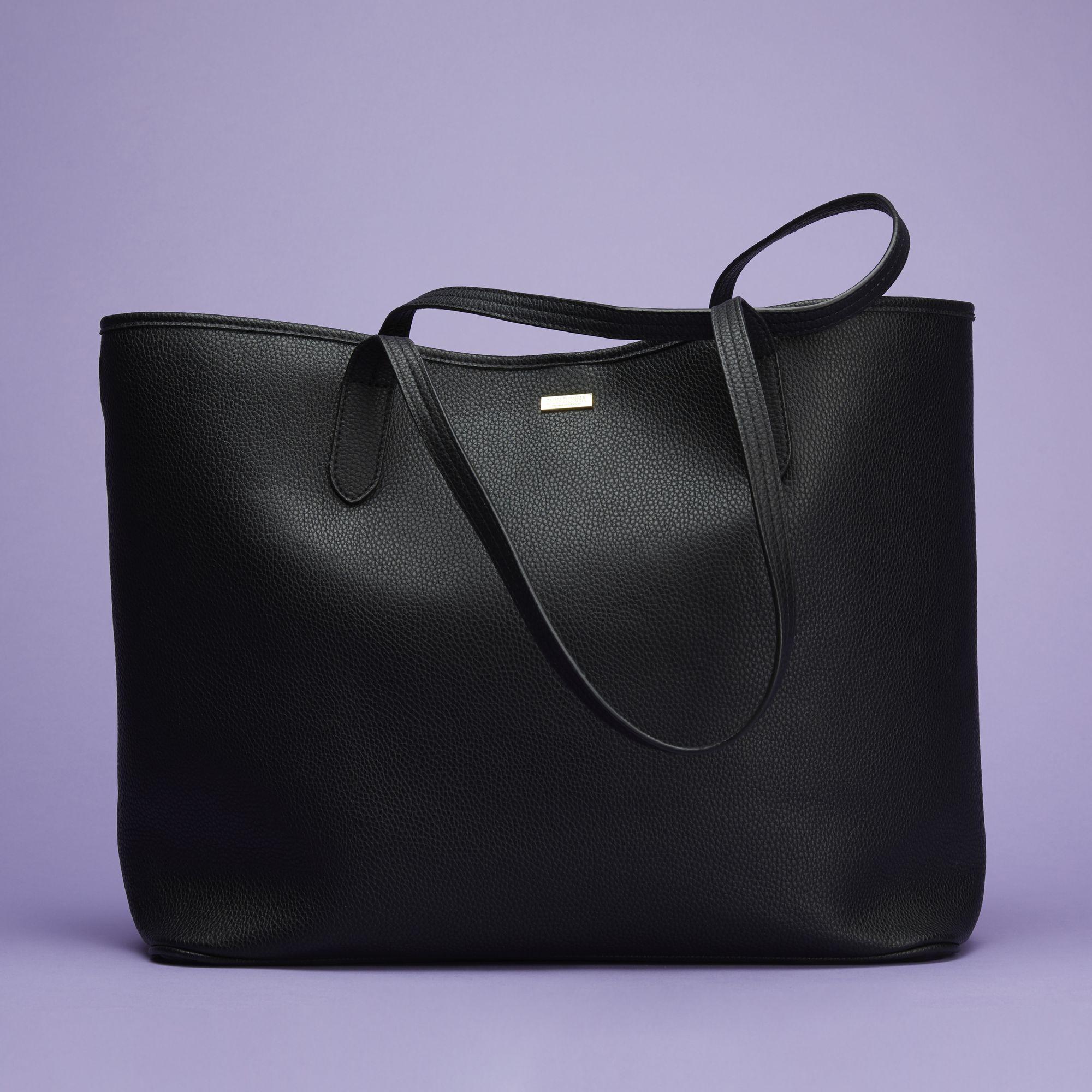 Don Donna Beverly Tote väska, Svart