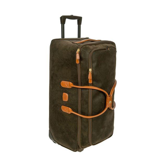 mjuk resväska på hjul