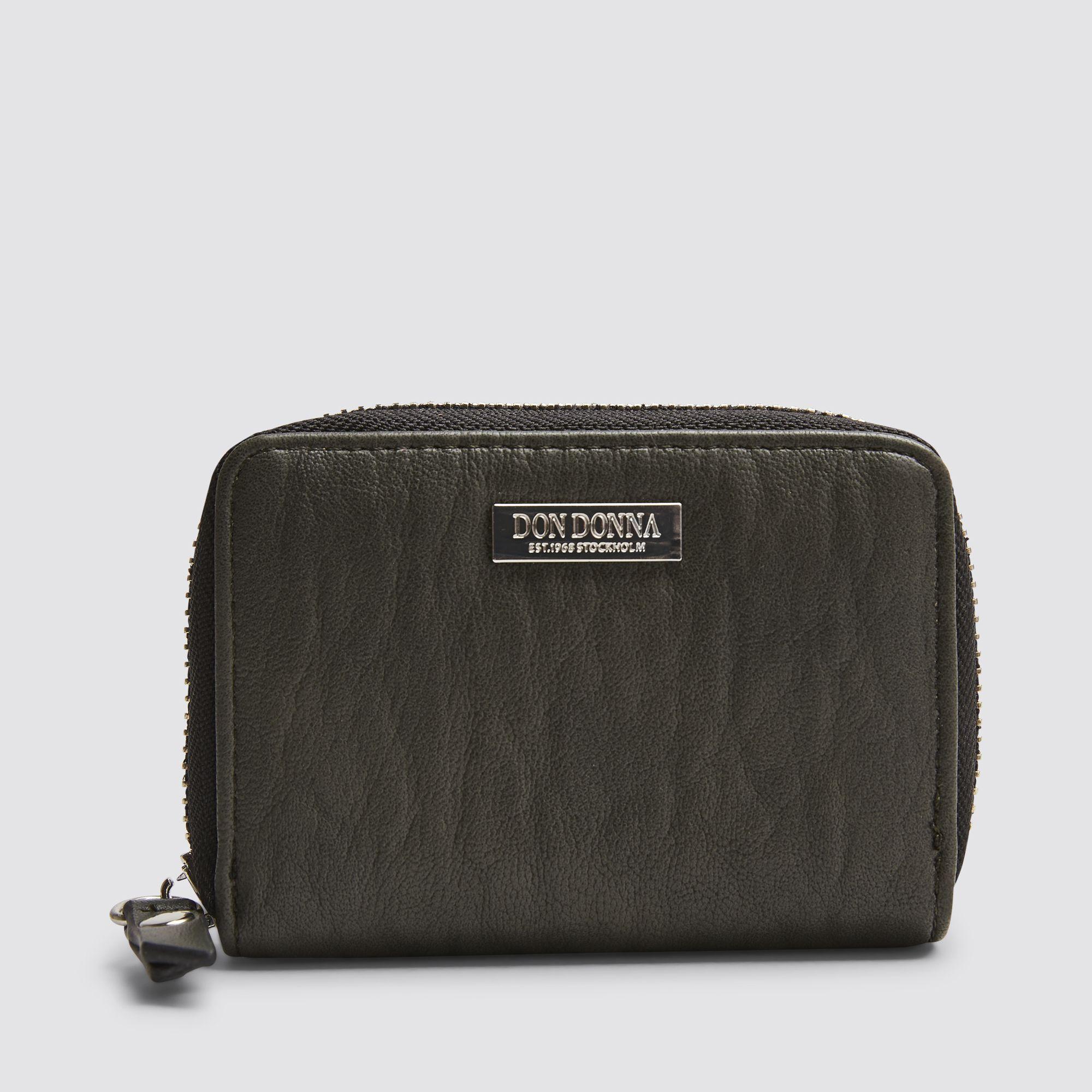 Don Donna Camille plånbok för kort, Mörkgrön