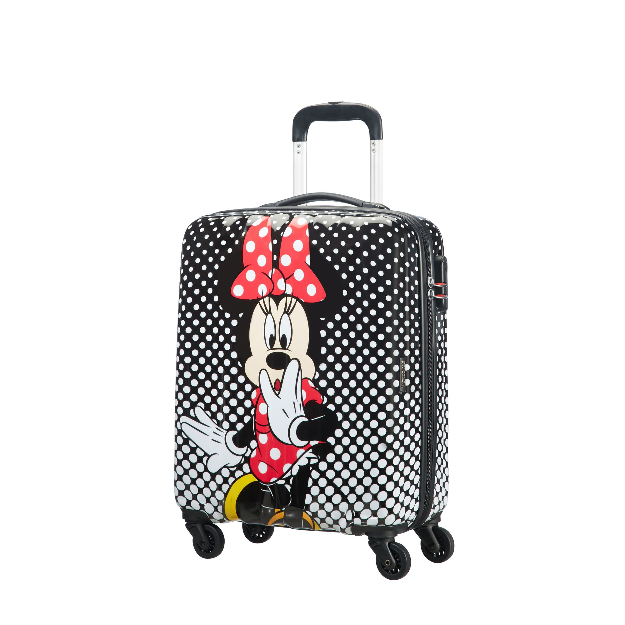 American Tourister Disney Legends Mimmi Pigg resväska, 55 cm, Svart med mönster