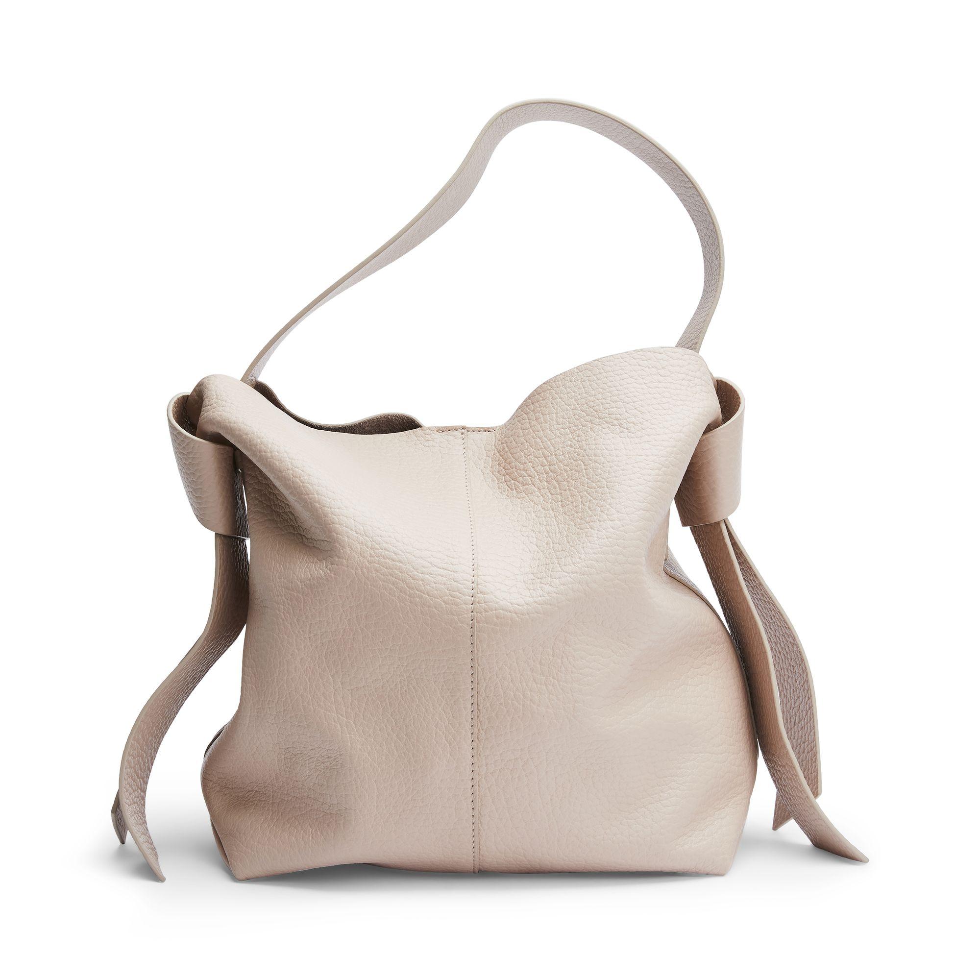 Rizzo Hazel Hobo väska i skinn, Ljusrosa