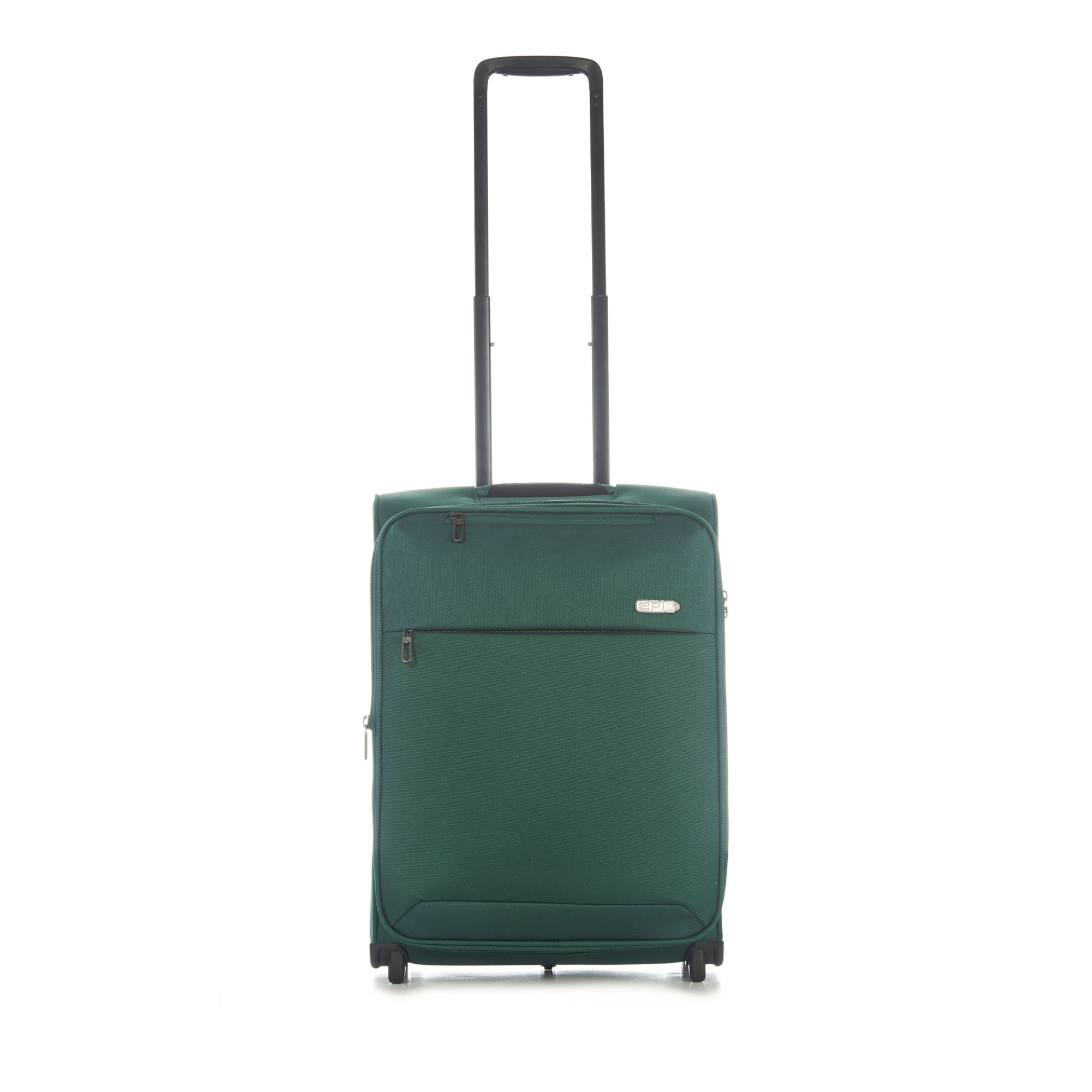 Epic Discovery Neo expanderbar kabinväska, 2 hjul, 55 cm, Grön