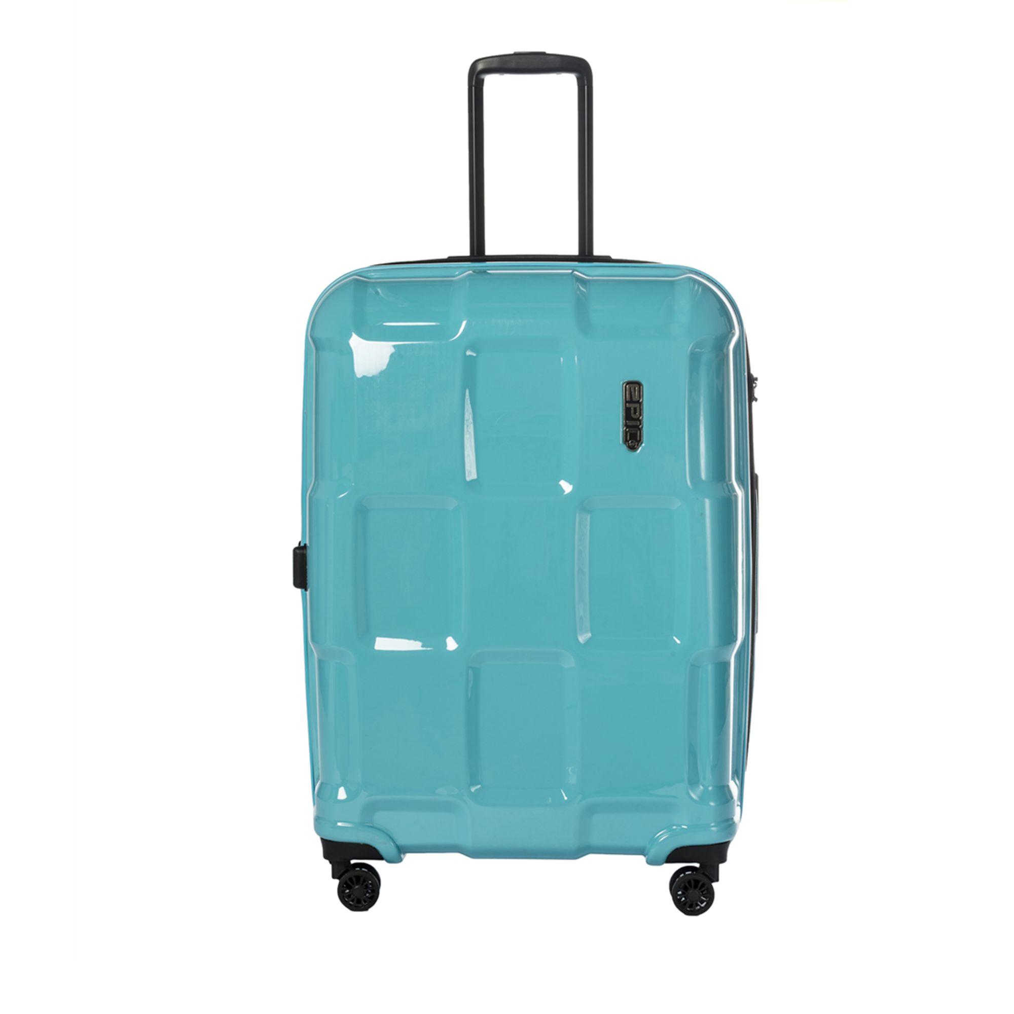 EPIC Crate EX Solids hård resväska, 4 hjul, 76 cm, Blå