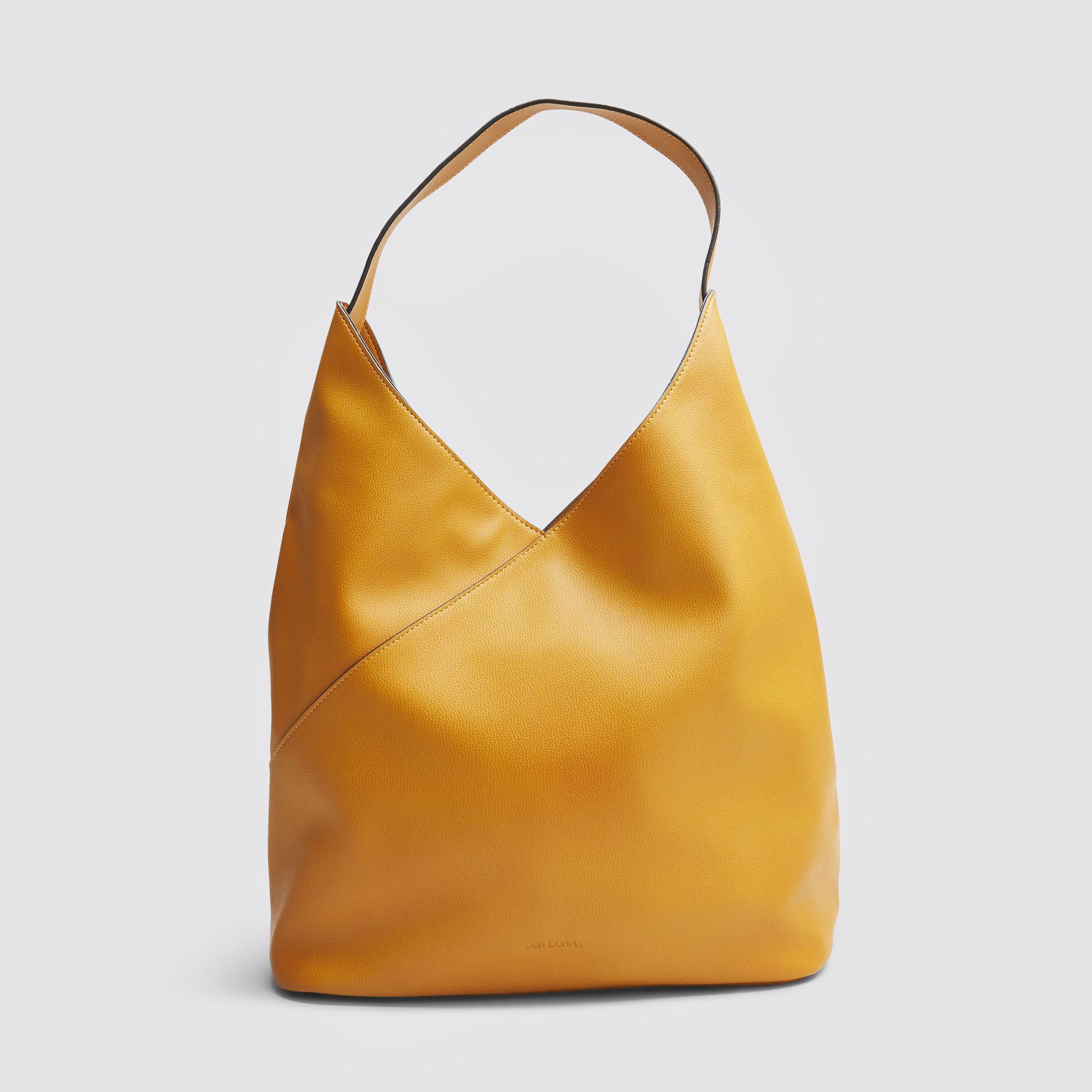 Don Donna Jewel Hobo handväska, Gul med mönster