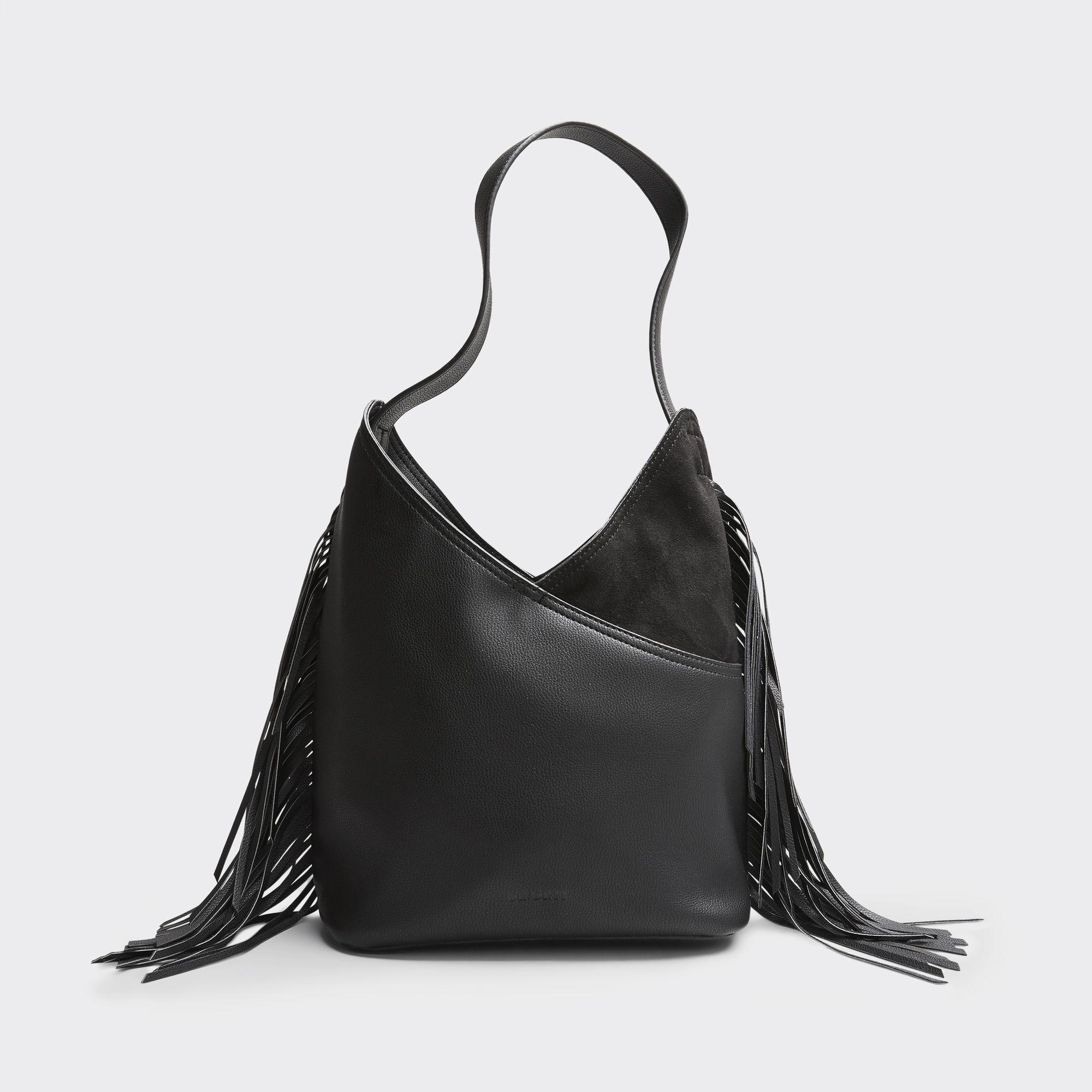 Don Donna Jewel Small Hobo handväska, Svart