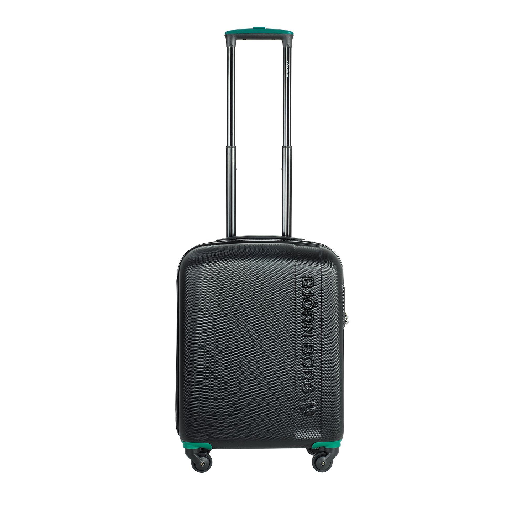 Björn Borg Hot Solid resväska, 4 hjul, 55/65/78 cm, Svart, 55cm