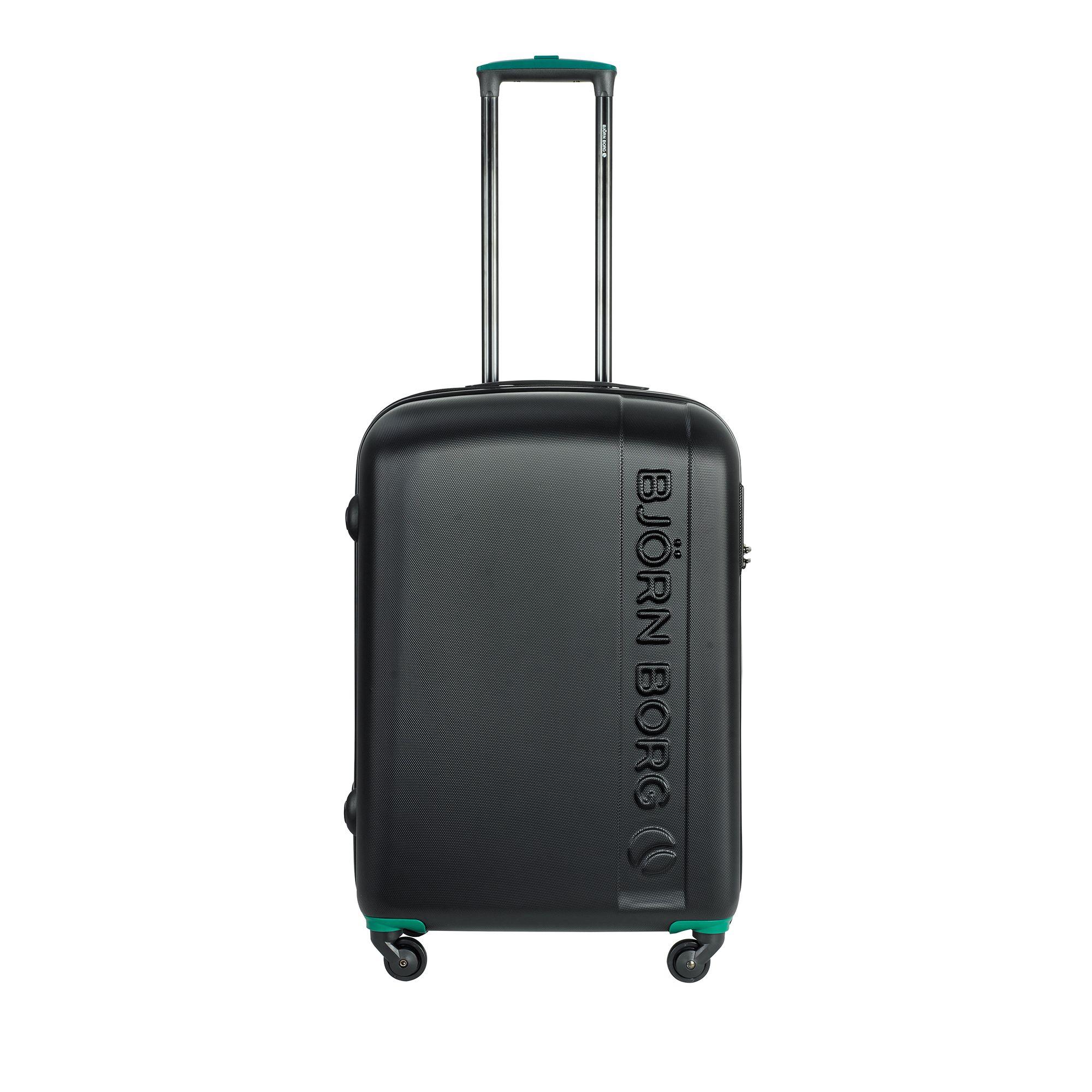Björn Borg Hot Solid resväska, 4 hjul, 55/65/78 cm, Svart, 67cm