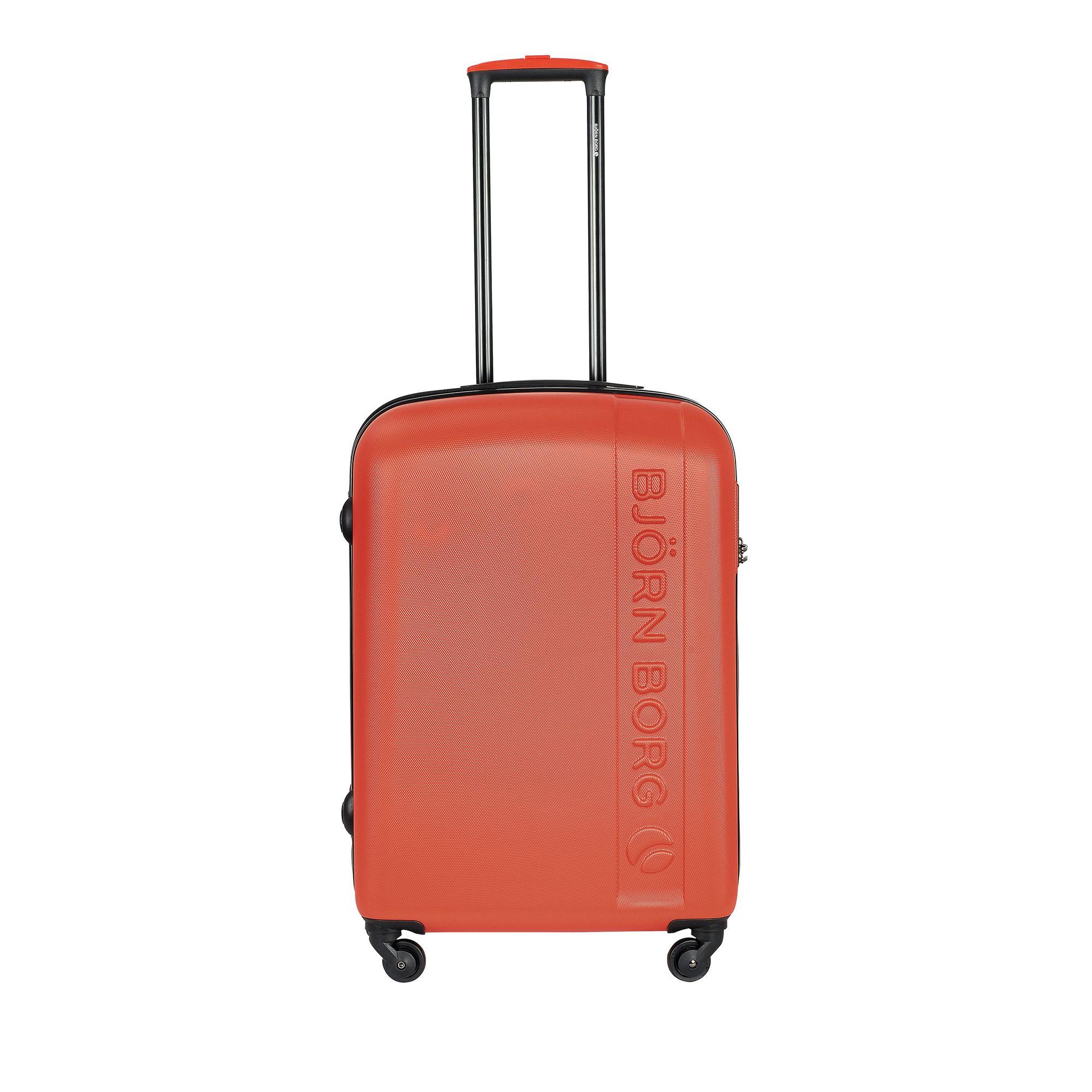 Björn Borg Hot Solid resväska, 4 hjul, 55/65/78 cm, Orange, 67cm
