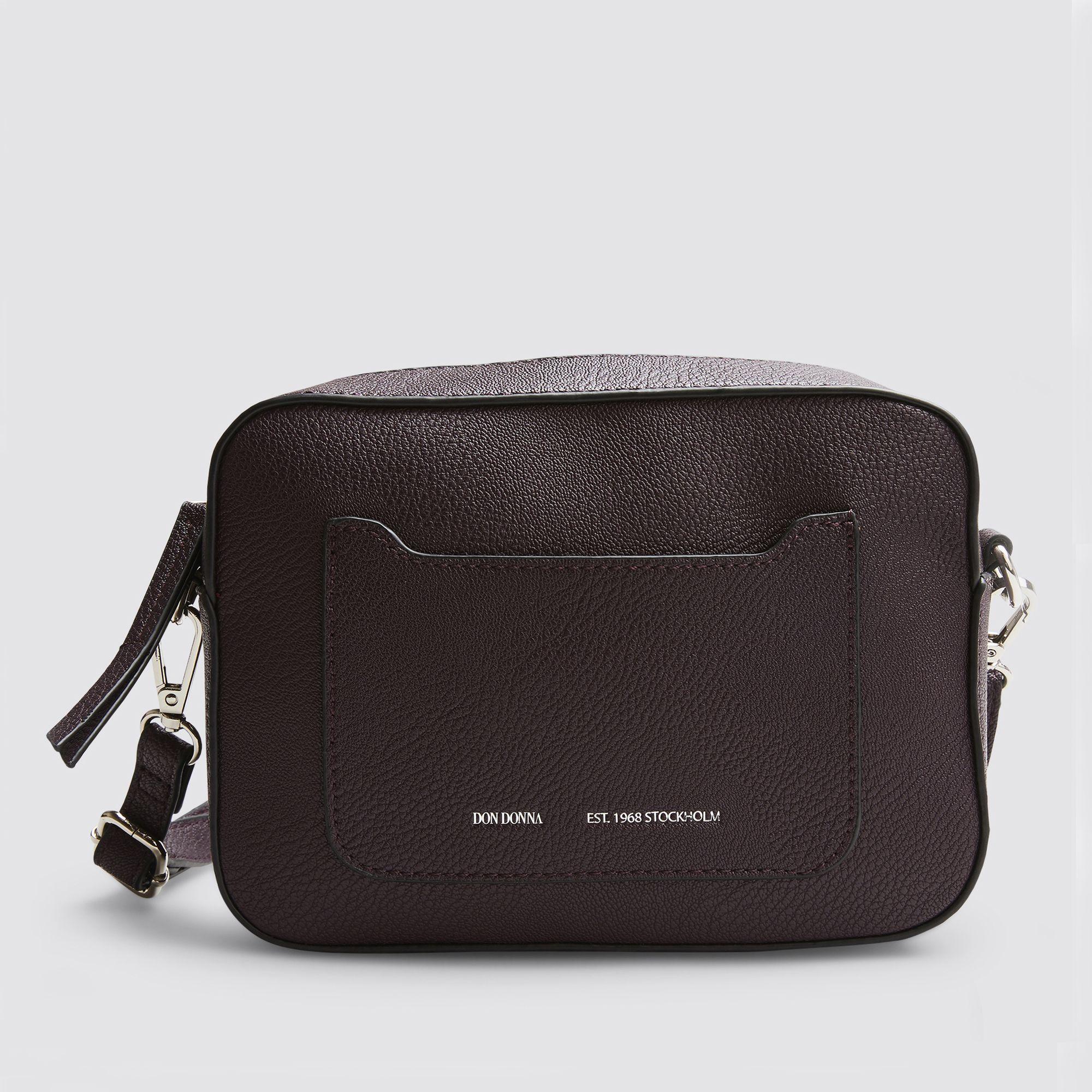 Don Donna Zelda Camera Bag axelremsväska, Mörklila
