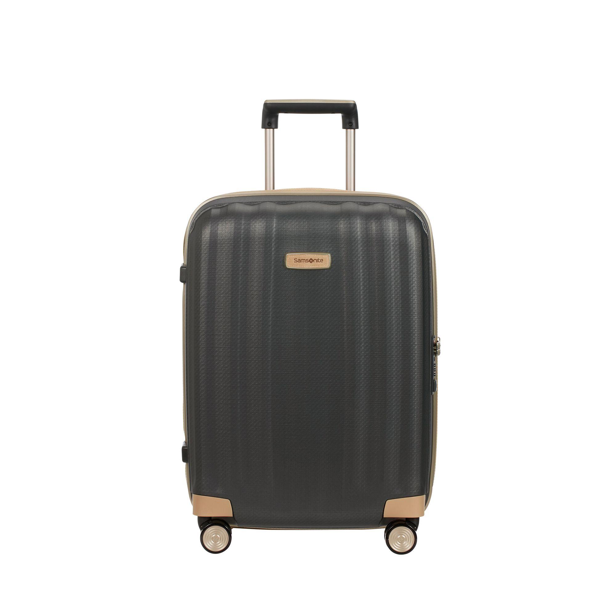Samsonite Lite-Cube Prime kabinväska, 55 cm, Mörkgrå