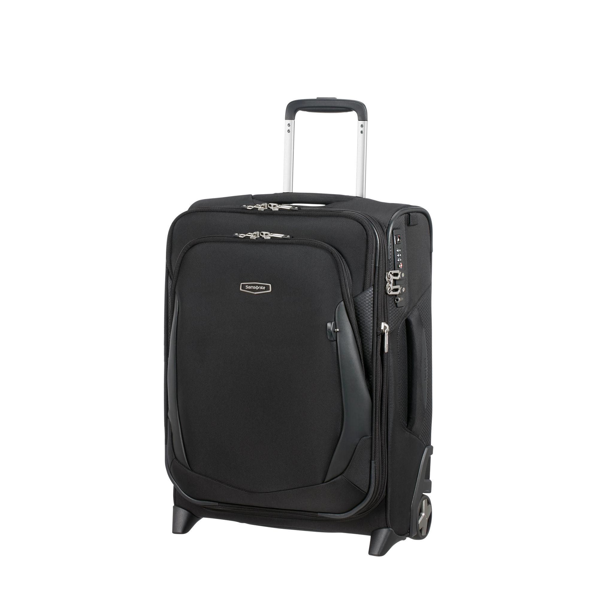 Samsonite X'Blade 4.0 expanderbar resväska, 2 hjul, 55 cm, Svart
