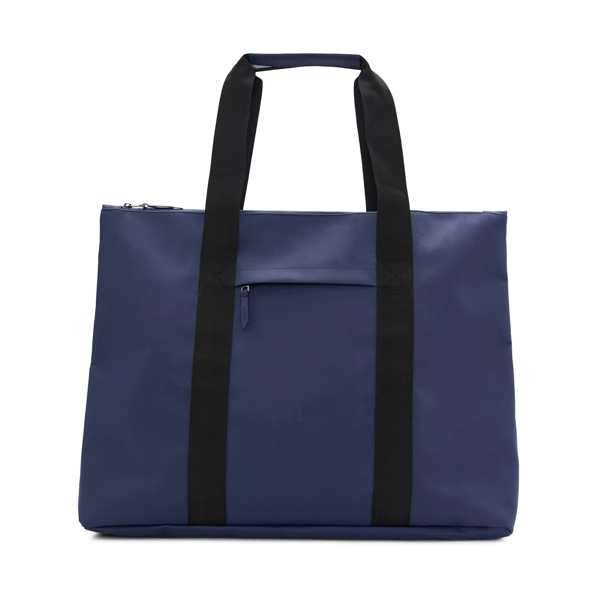 Rains Weekend Tote väska, Blå