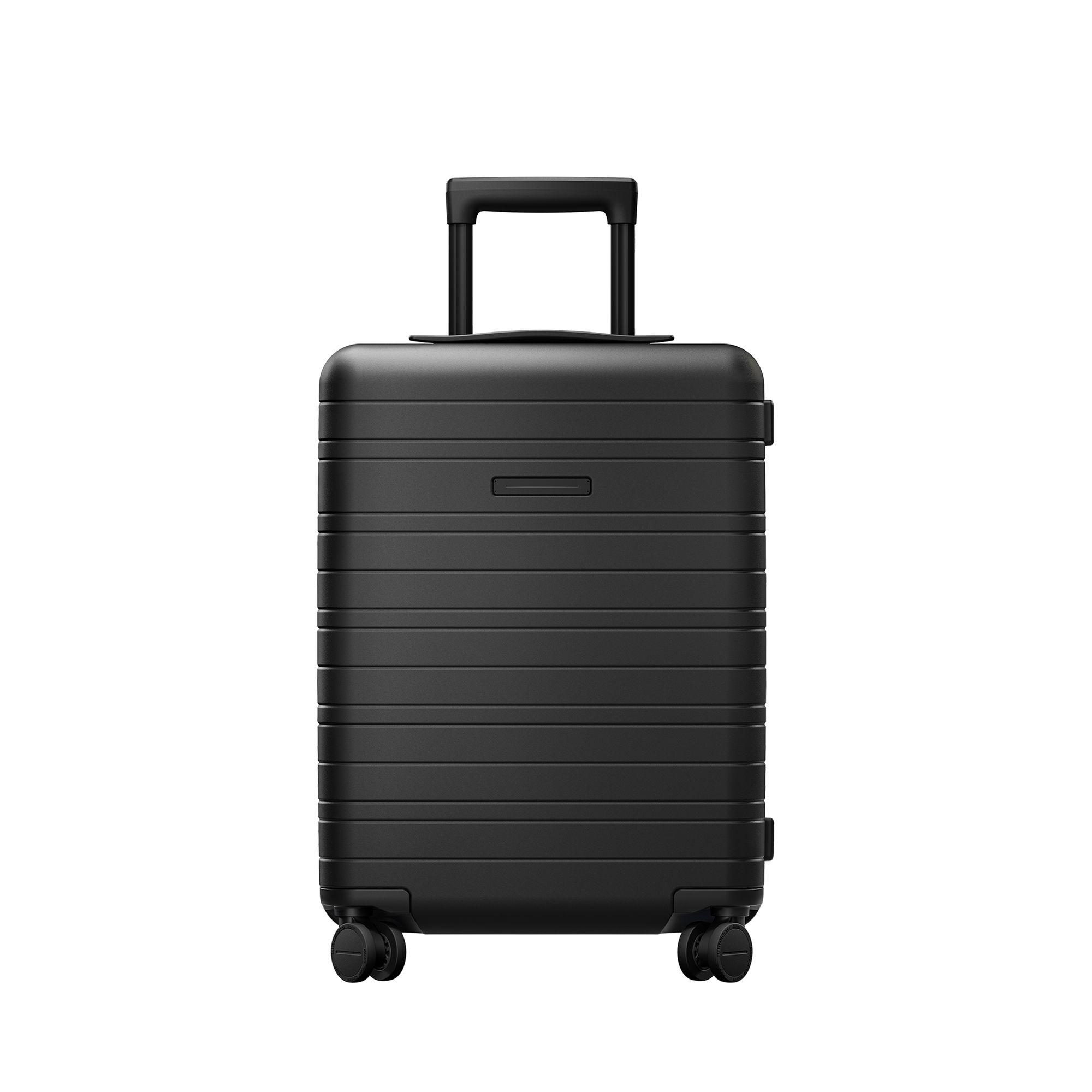 Horizn Studios Essential H5 hård kabinväska, 4 hjul, 55 cm, Svart
